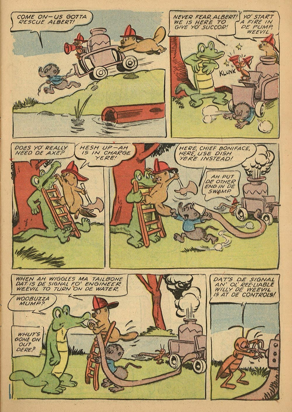 Read online Animal Comics comic -  Issue #24 - 11