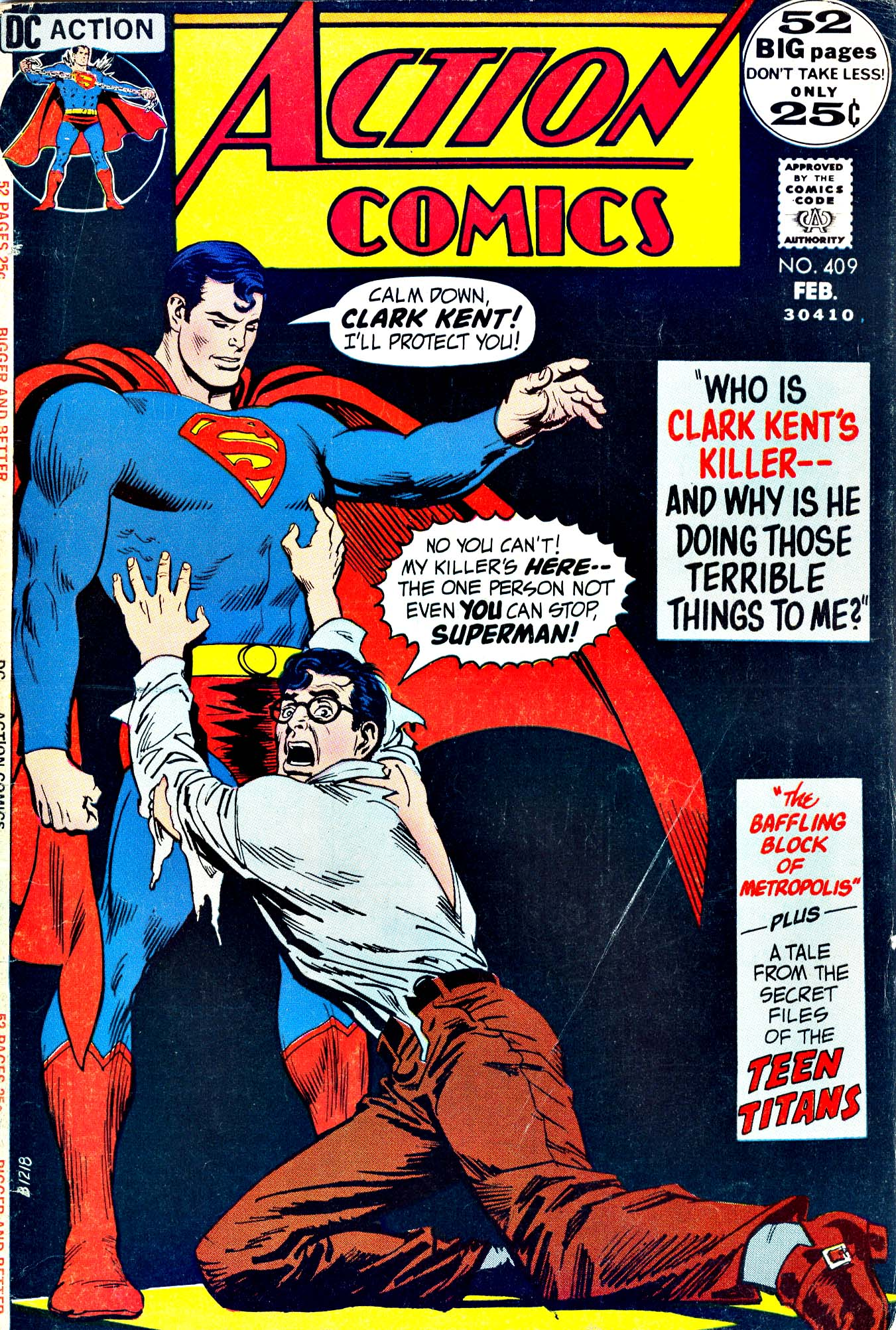 Read online Action Comics (1938) comic -  Issue #409 - 1