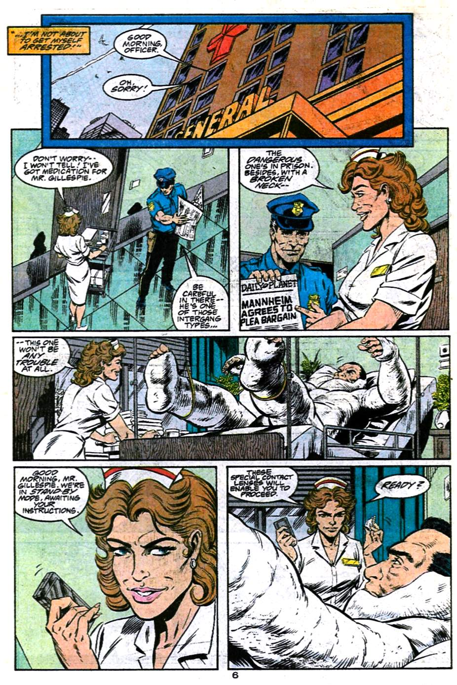 Read online Adventures of Superman (1987) comic -  Issue #486 - 7