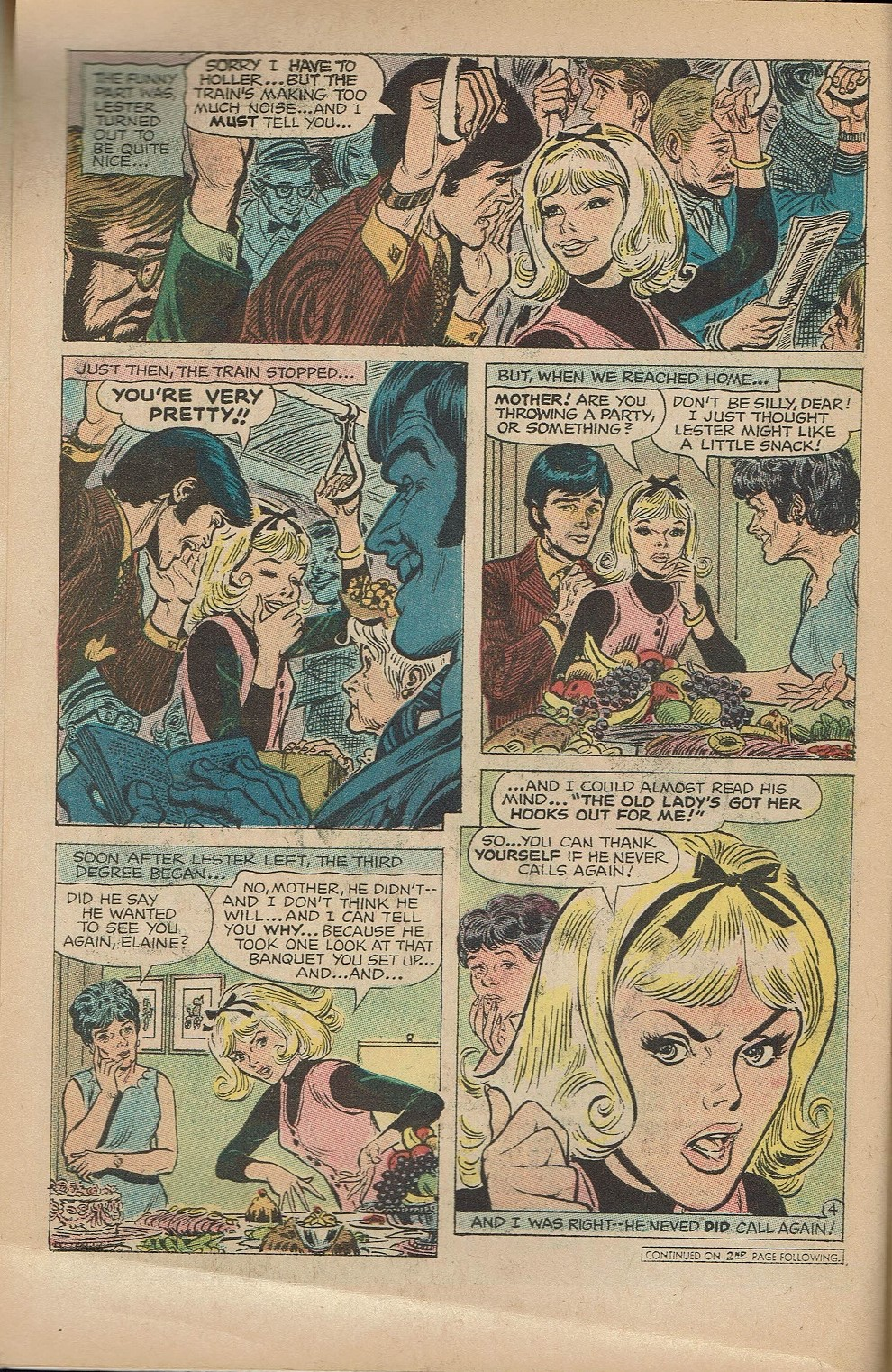 Read online Secret Hearts comic -  Issue #151 - 6