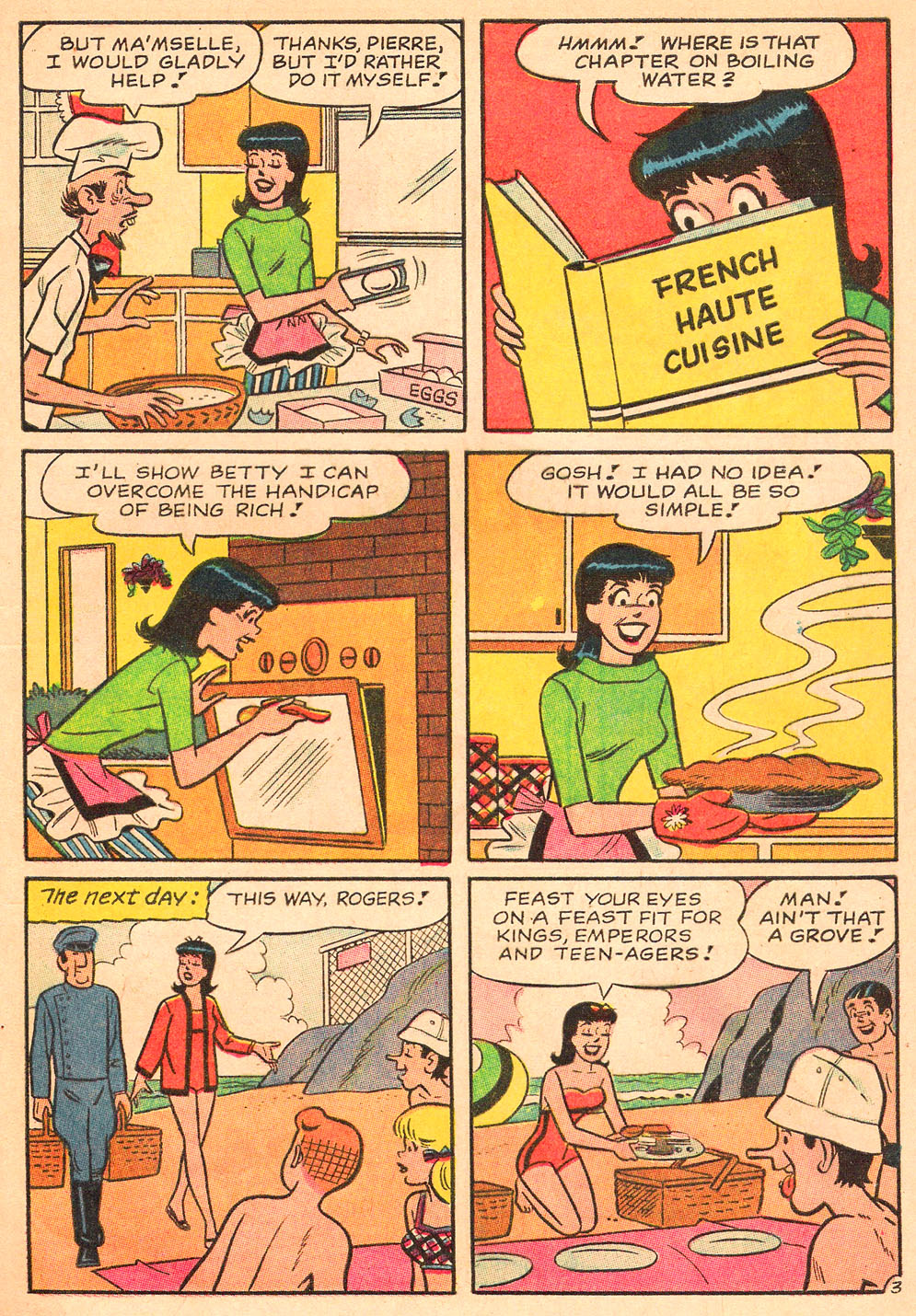 Read online Archie's Girls Betty and Veronica comic -  Issue #130 - 5