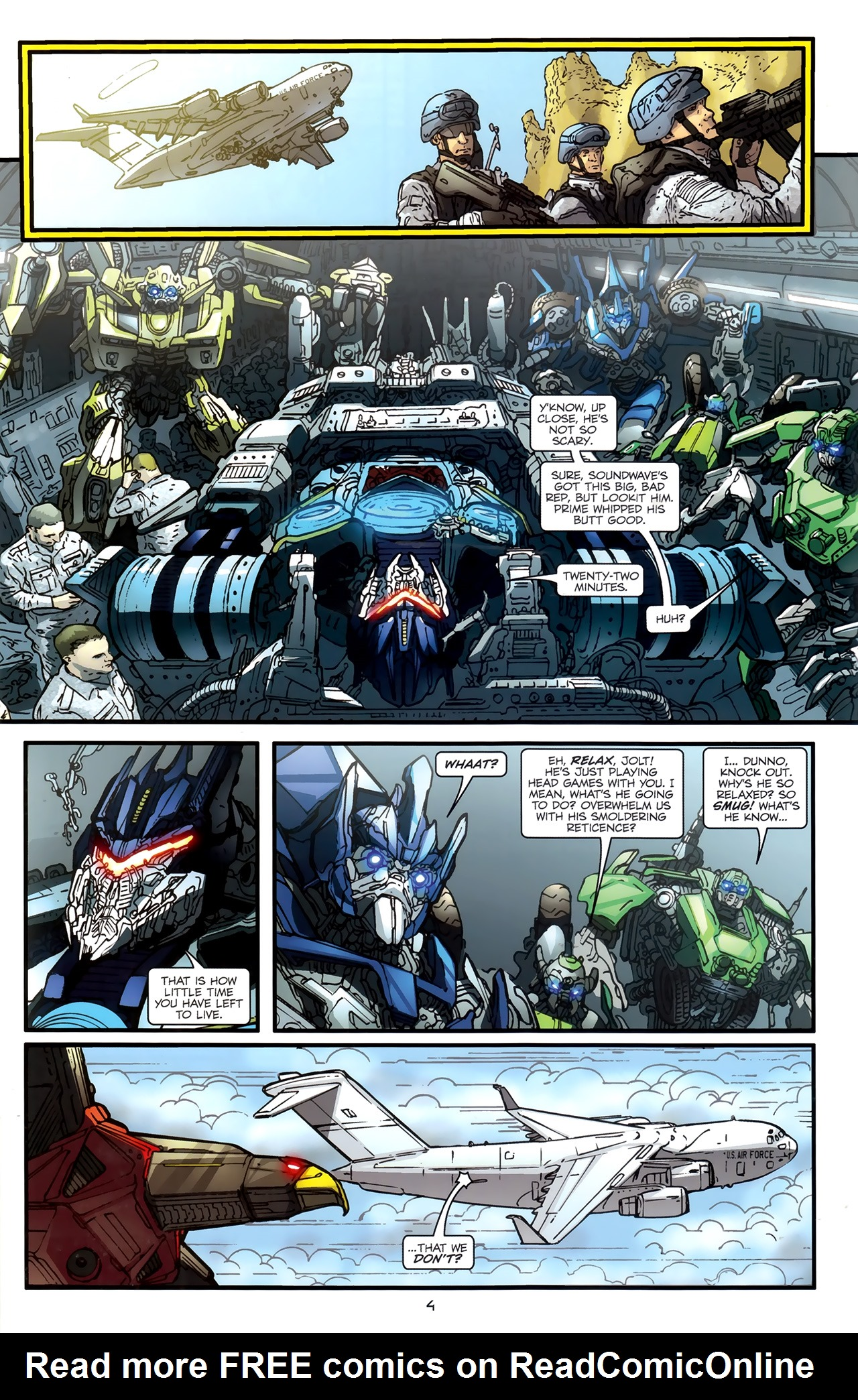 Read online Transformers: Nefarious comic -  Issue #3 - 7