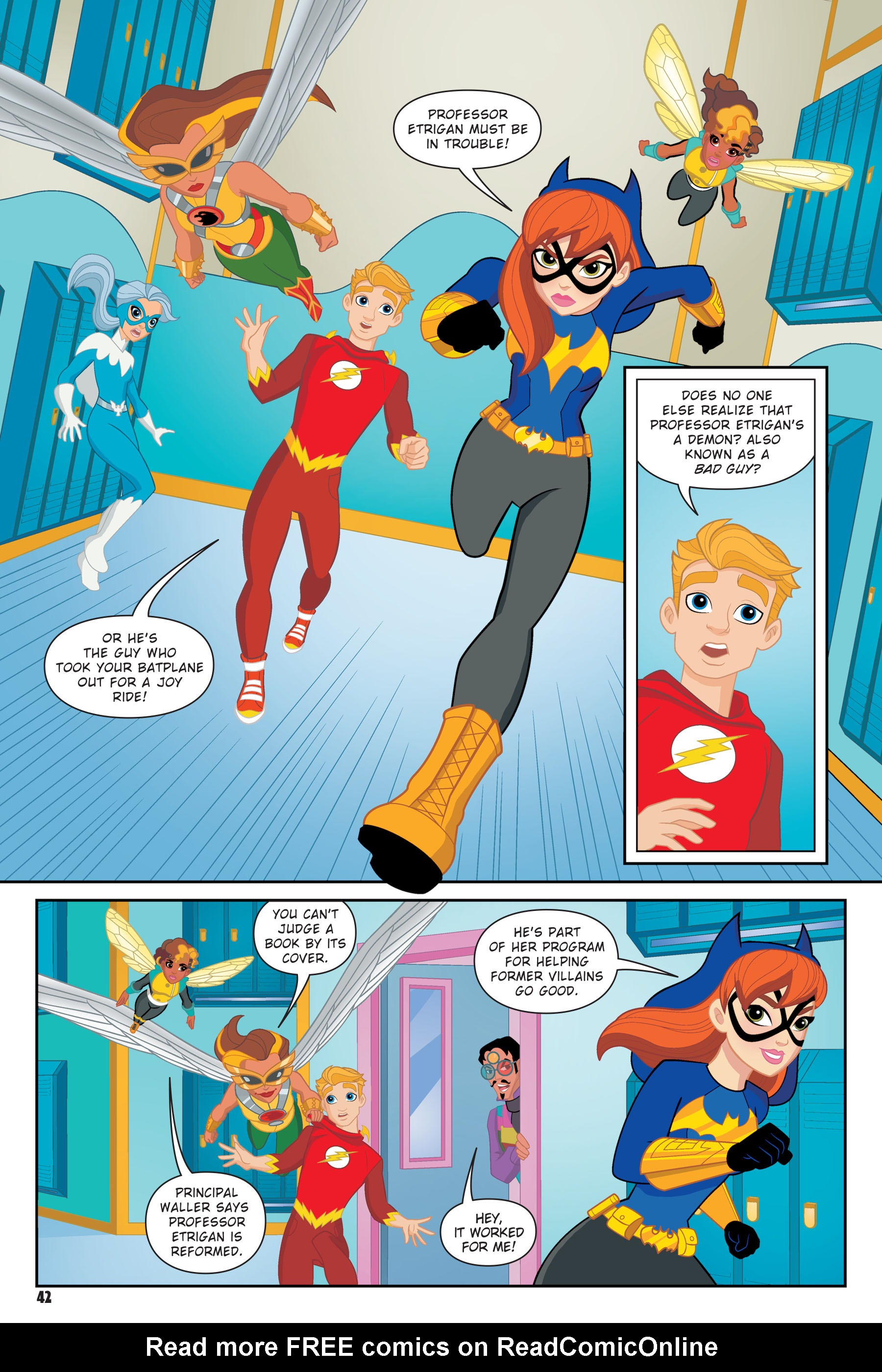Read online DC Super Hero Girls: Hits and Myths comic -  Issue # Full - 39