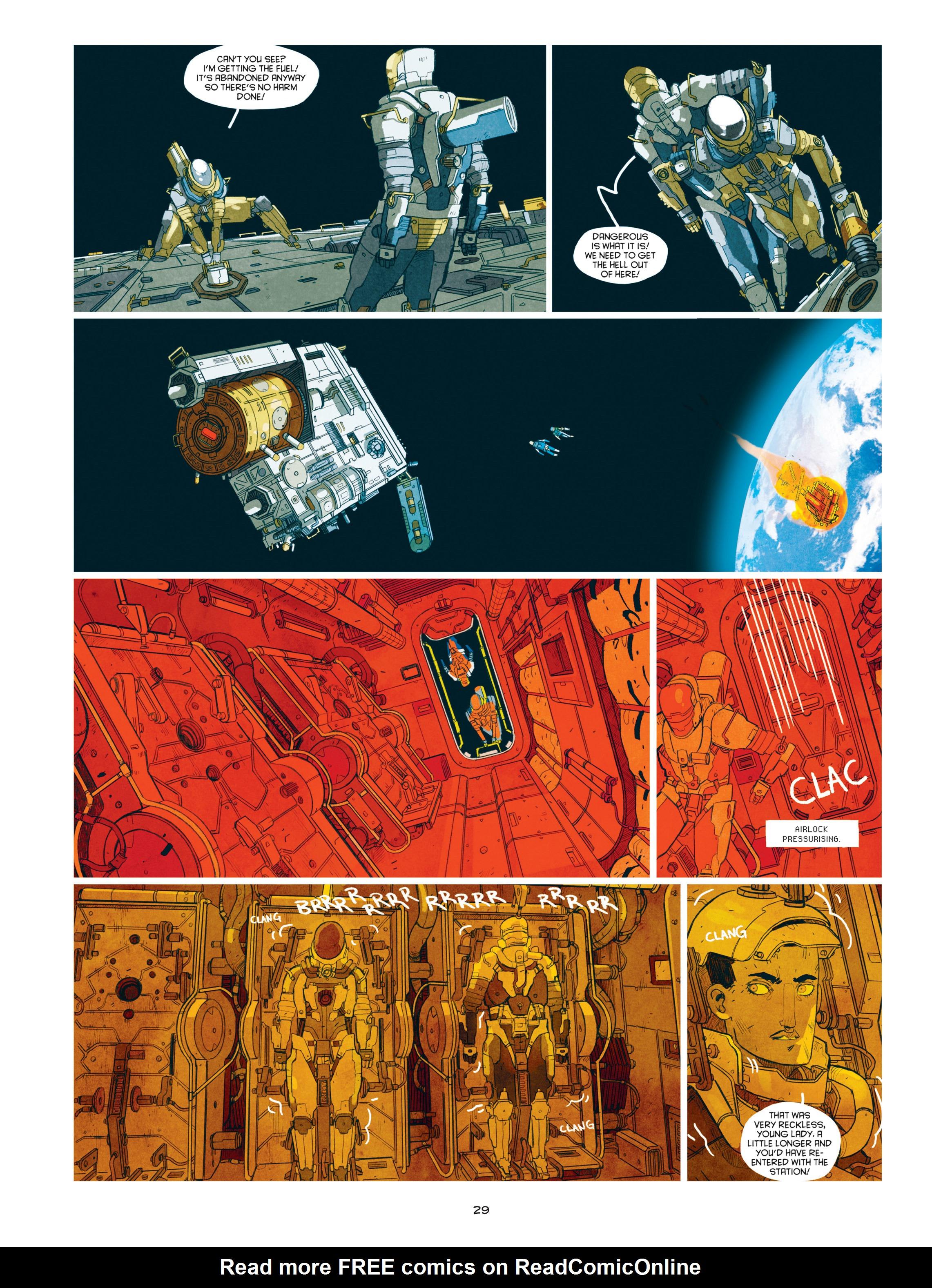 Read online Shangri-La comic -  Issue # Full - 31