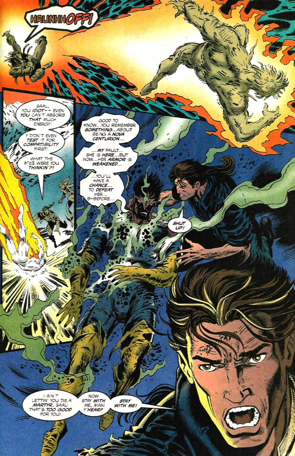 The New Warriors Issue #75 #79 - English 30