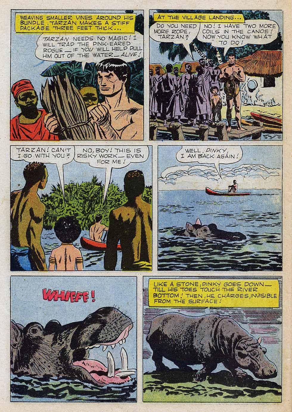 Tarzan (1948) issue 101 - Page 22