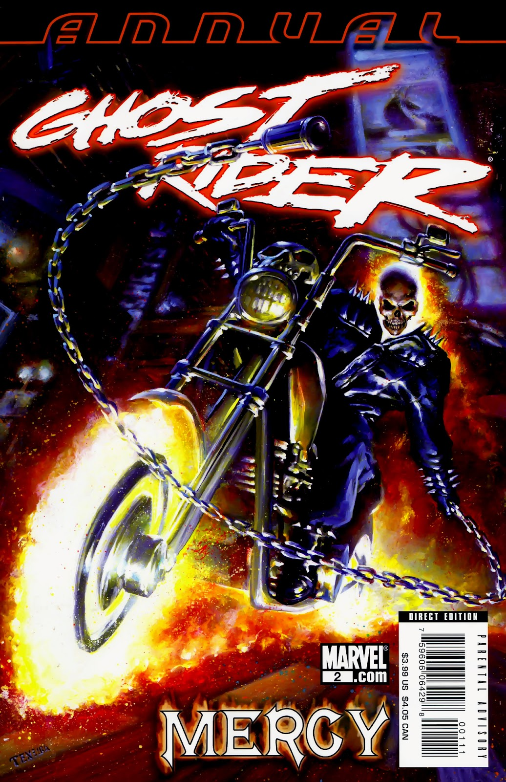Read online Ghost Rider (2006) comic -  Issue # Annual 2 - 1