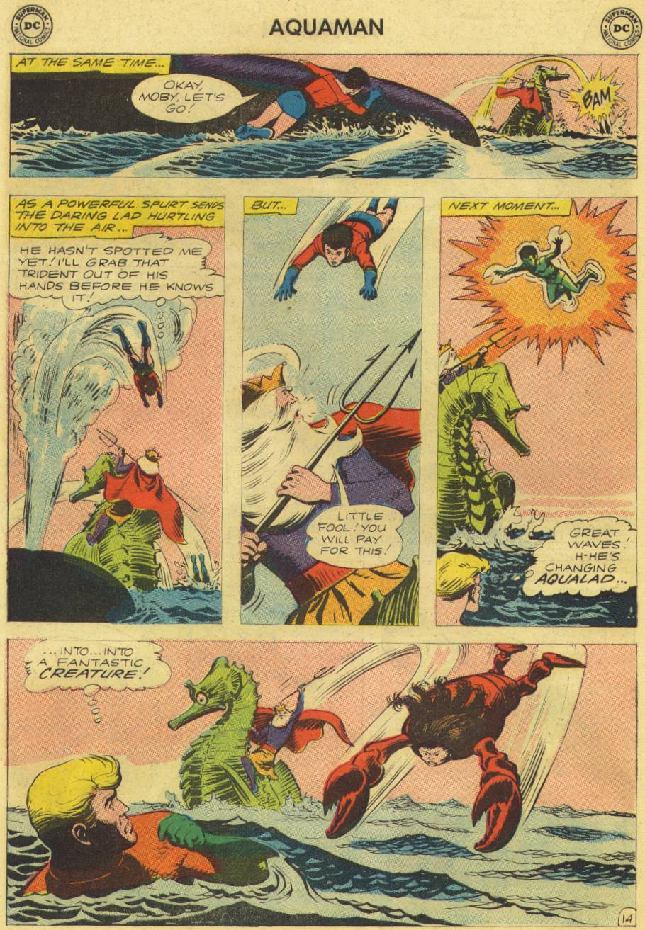 Read online Aquaman (1962) comic -  Issue #9 - 18