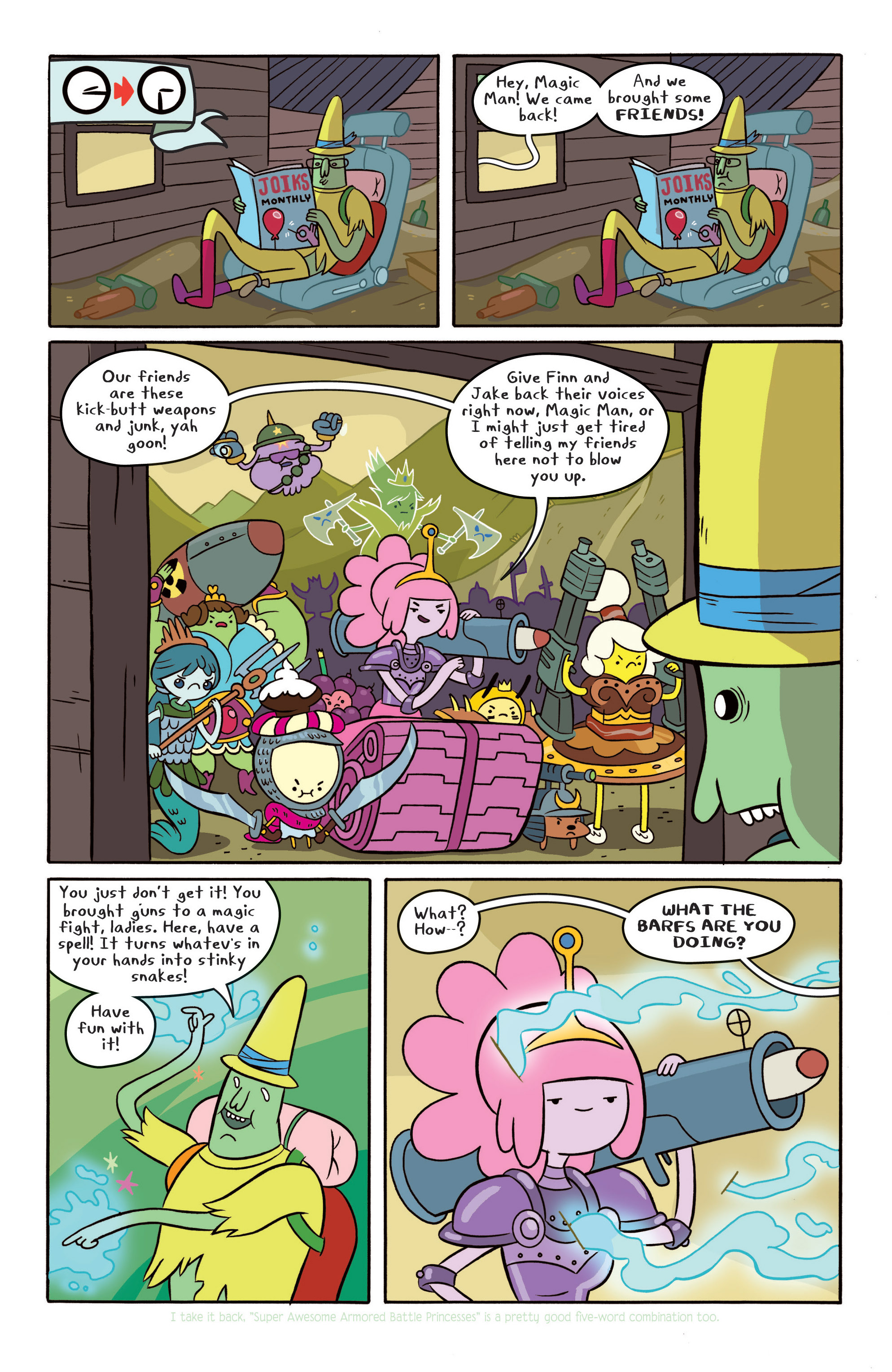 Read online Adventure Time comic -  Issue #Adventure Time _TPB 4 - 20