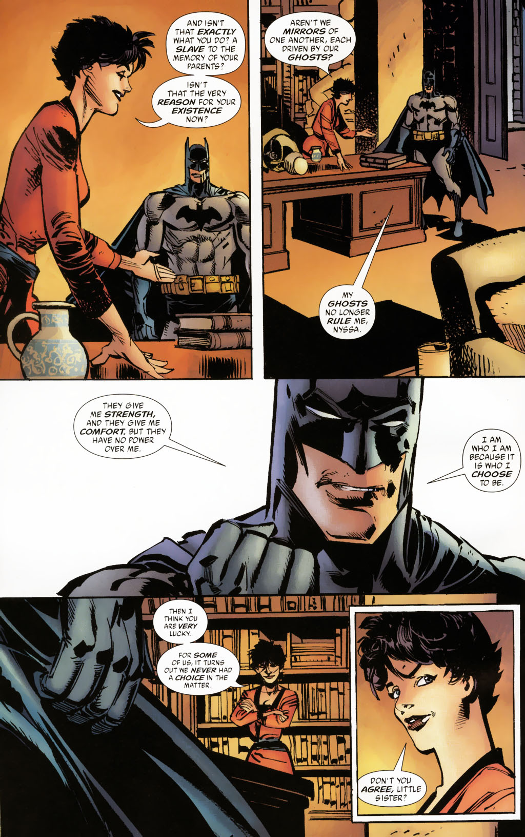 Read online Batman: Death and the Maidens comic -  Issue #9 - 19