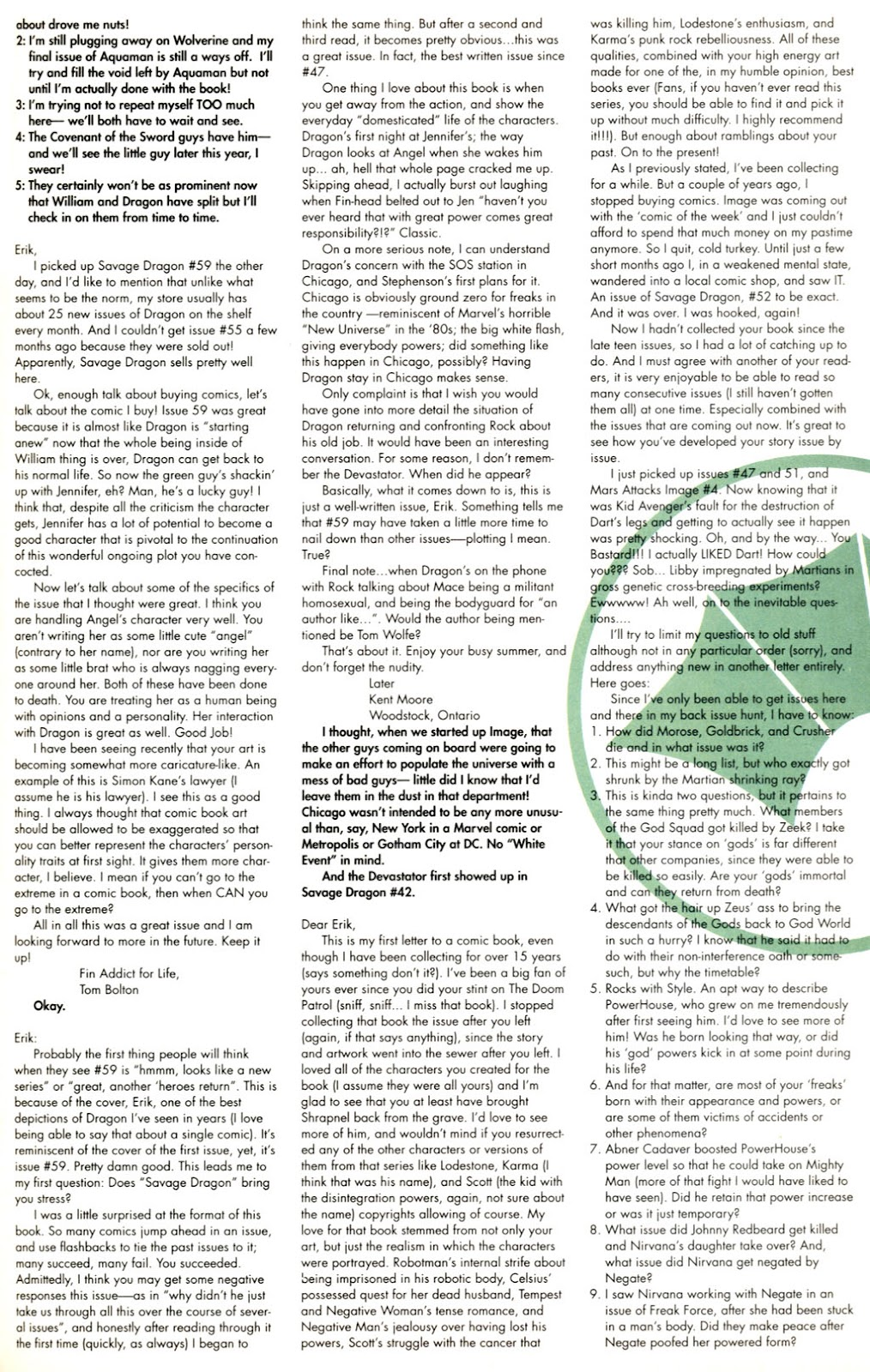 The Savage Dragon (1993) Issue #61 #64 - English 26