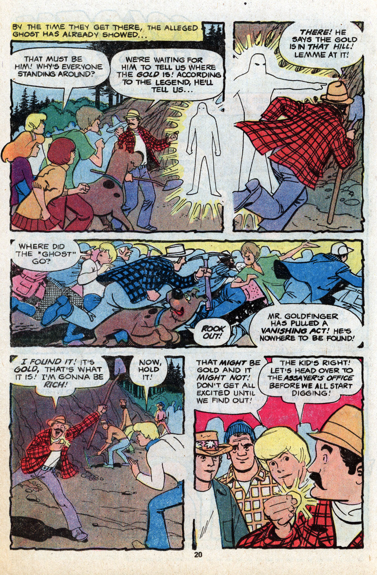 Read online Scooby-Doo (1977) comic -  Issue #6 - 21