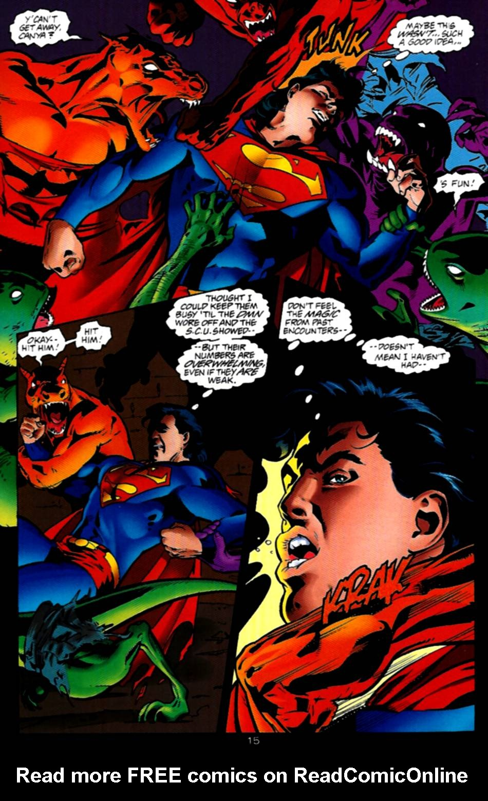 Read online Adventures of Superman (1987) comic -  Issue #534 - 16