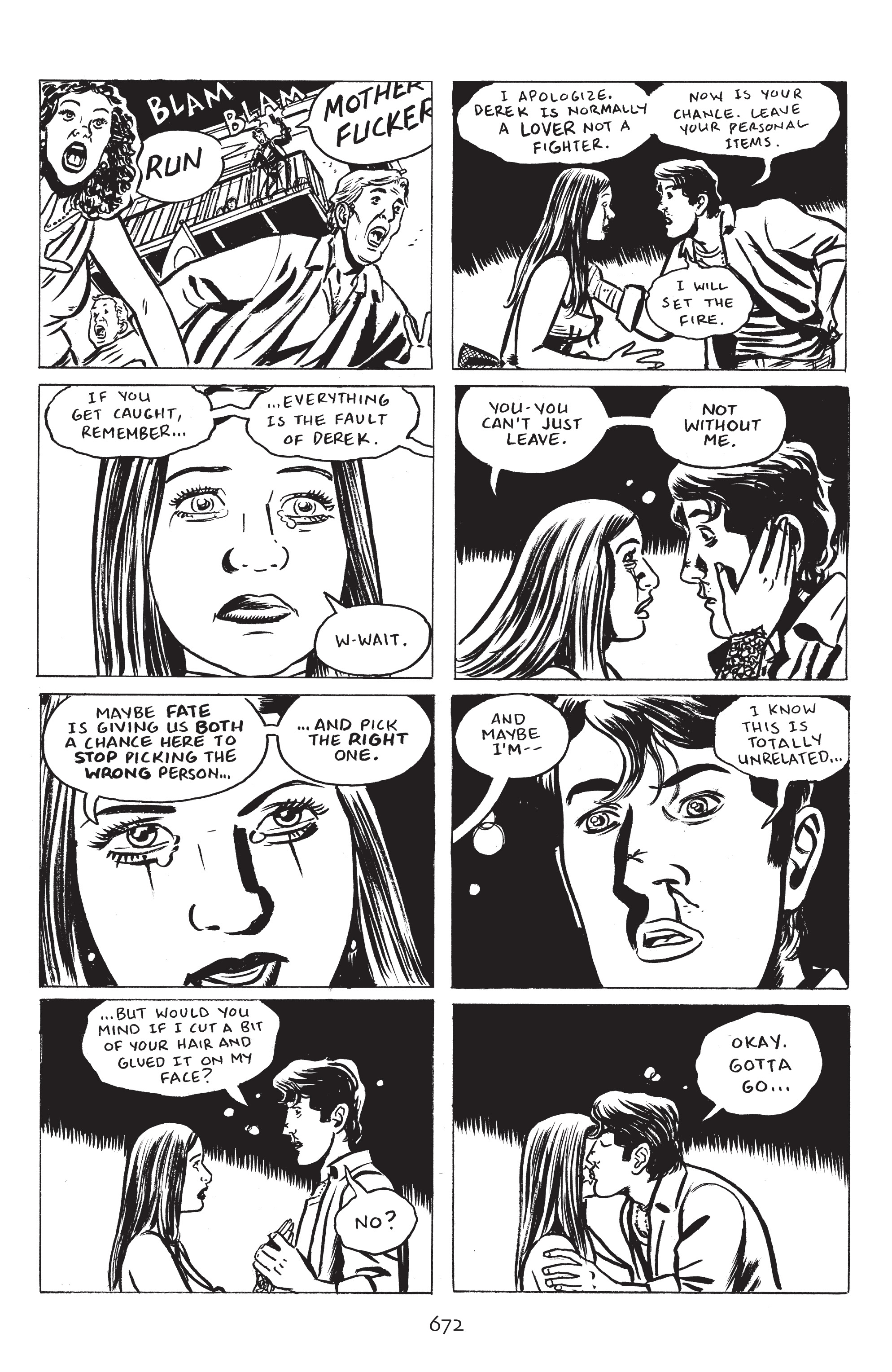 Read online Stray Bullets: Sunshine & Roses comic -  Issue #24 - 27
