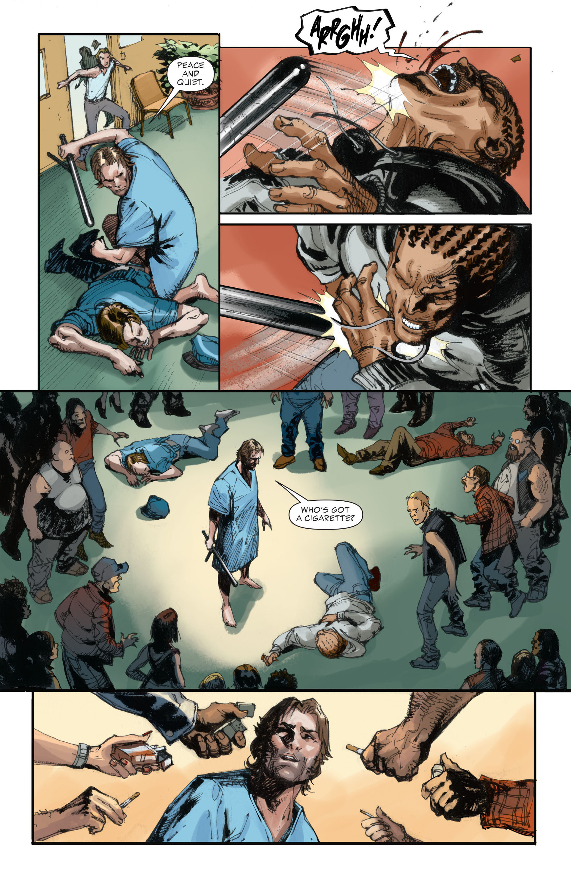 Read online All-Star Western (2011) comic -  Issue #28 - 13