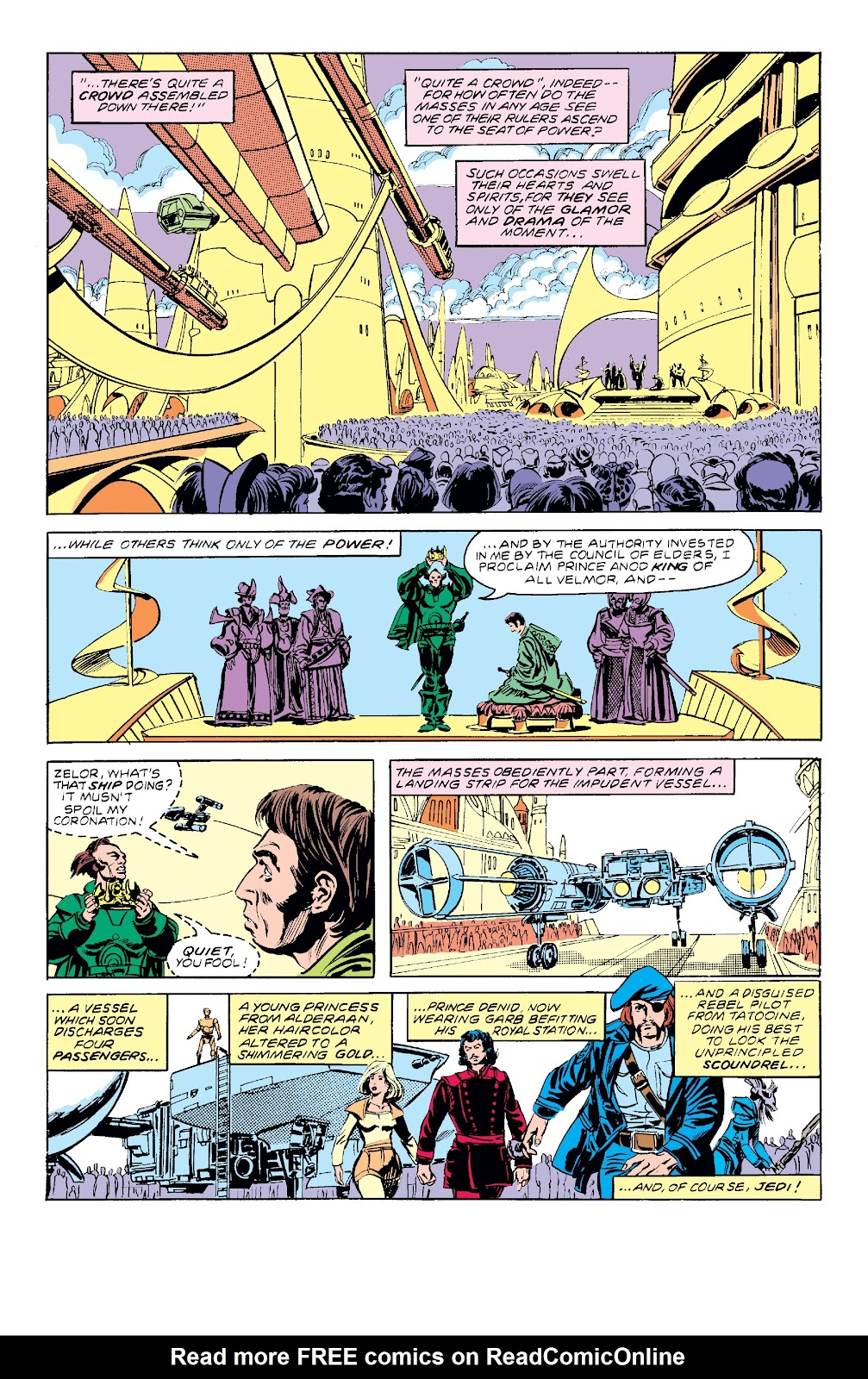 Read online Star Wars Legends: The Original Marvel Years - Epic Collection comic -  Issue # TPB 3 (Part 3) - 12