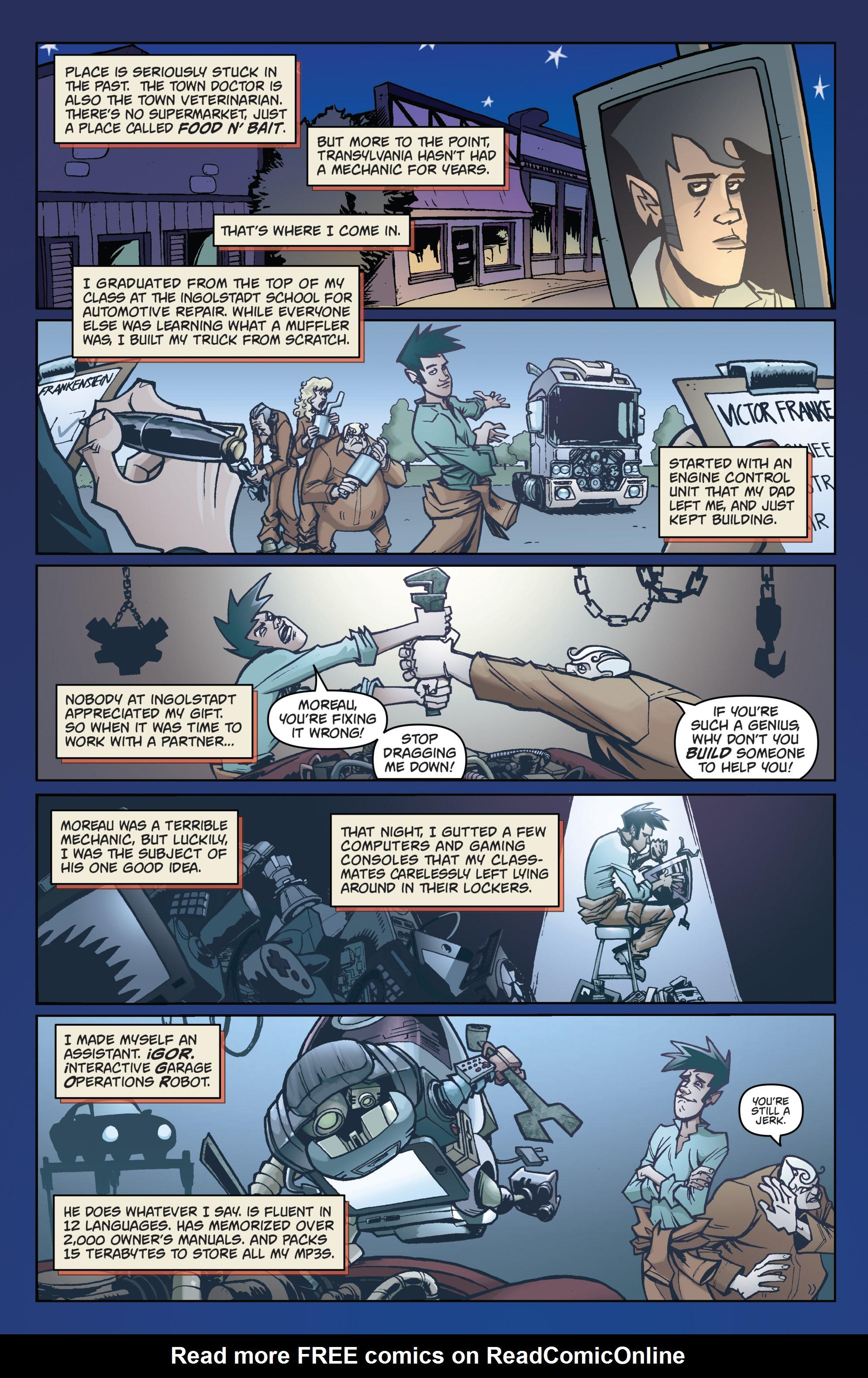 Read online Monster Motors comic -  Issue # Full - 5