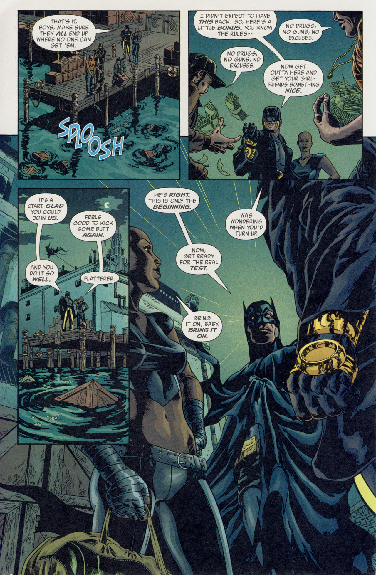 Read online Batman War Drums comic -  Issue # TPB - 147