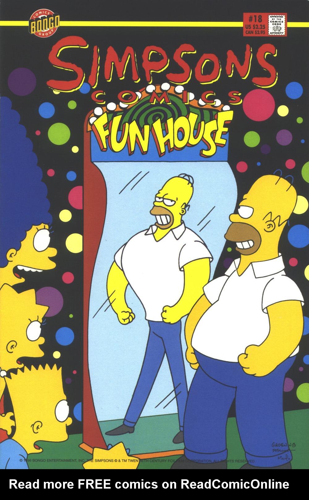 Read online Simpsons Comics comic -  Issue #18 - 1