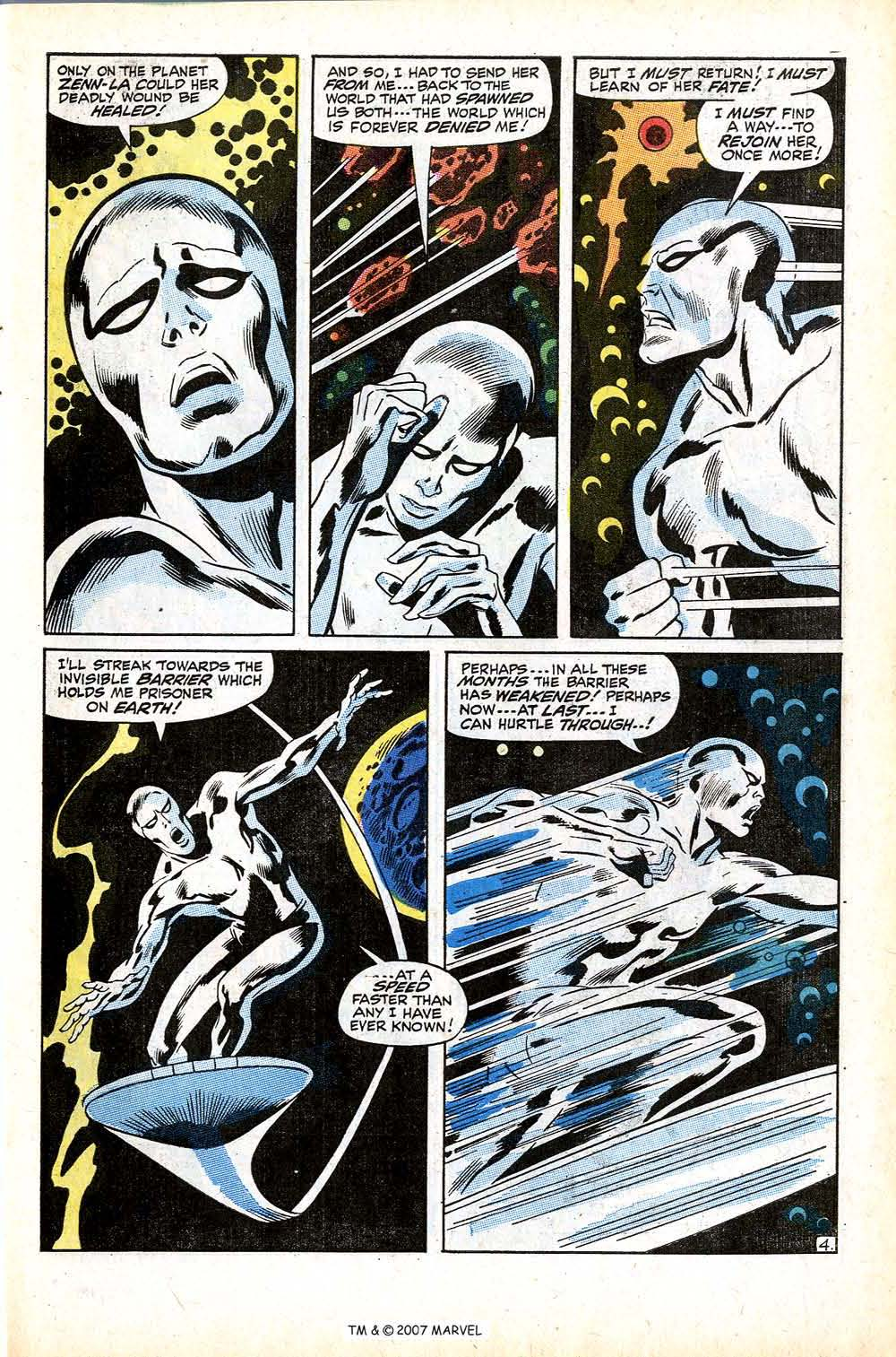 Read online Silver Surfer (1968) comic -  Issue #12 - 7