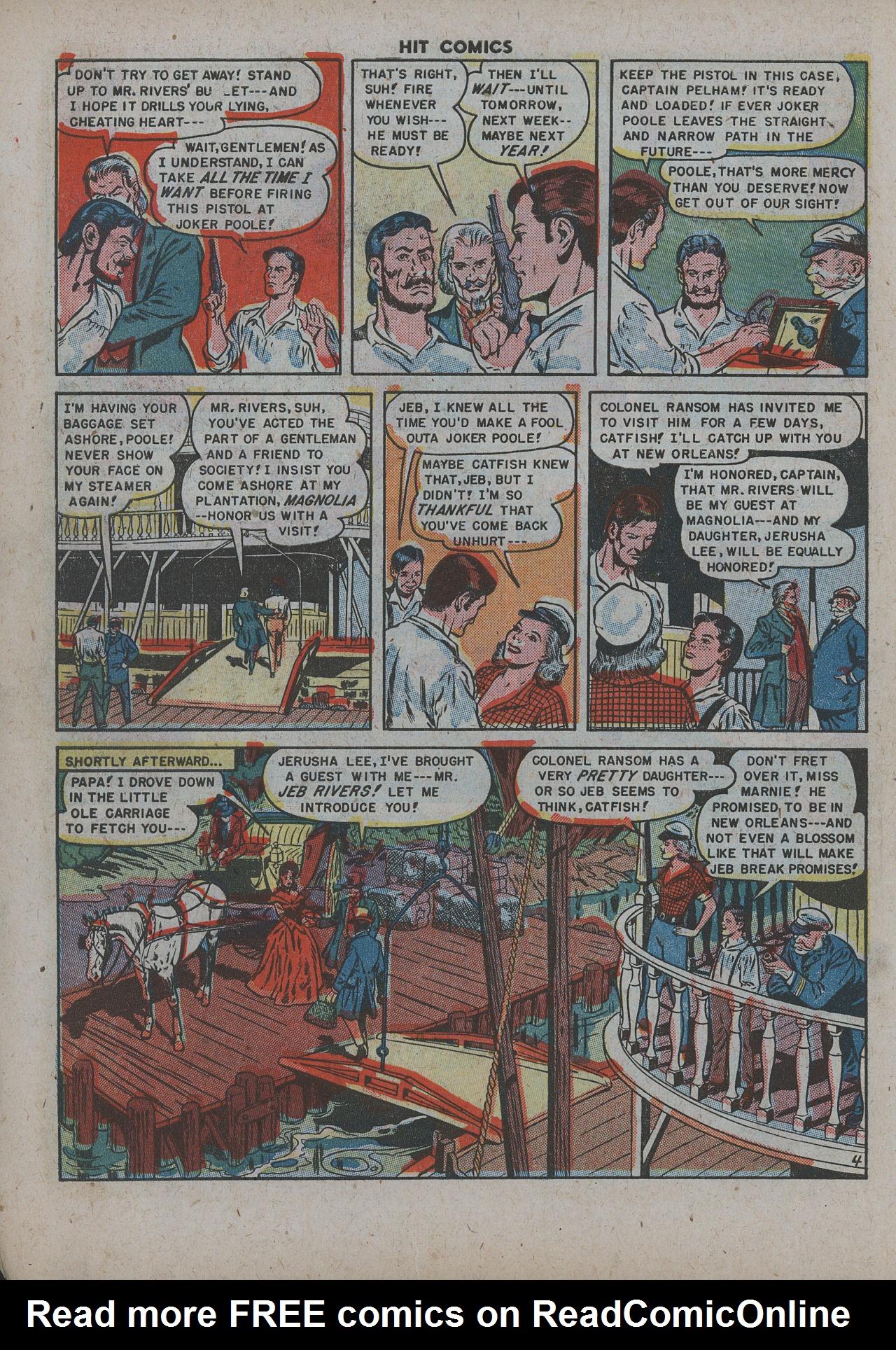 Read online Hit Comics comic -  Issue #63 - 6
