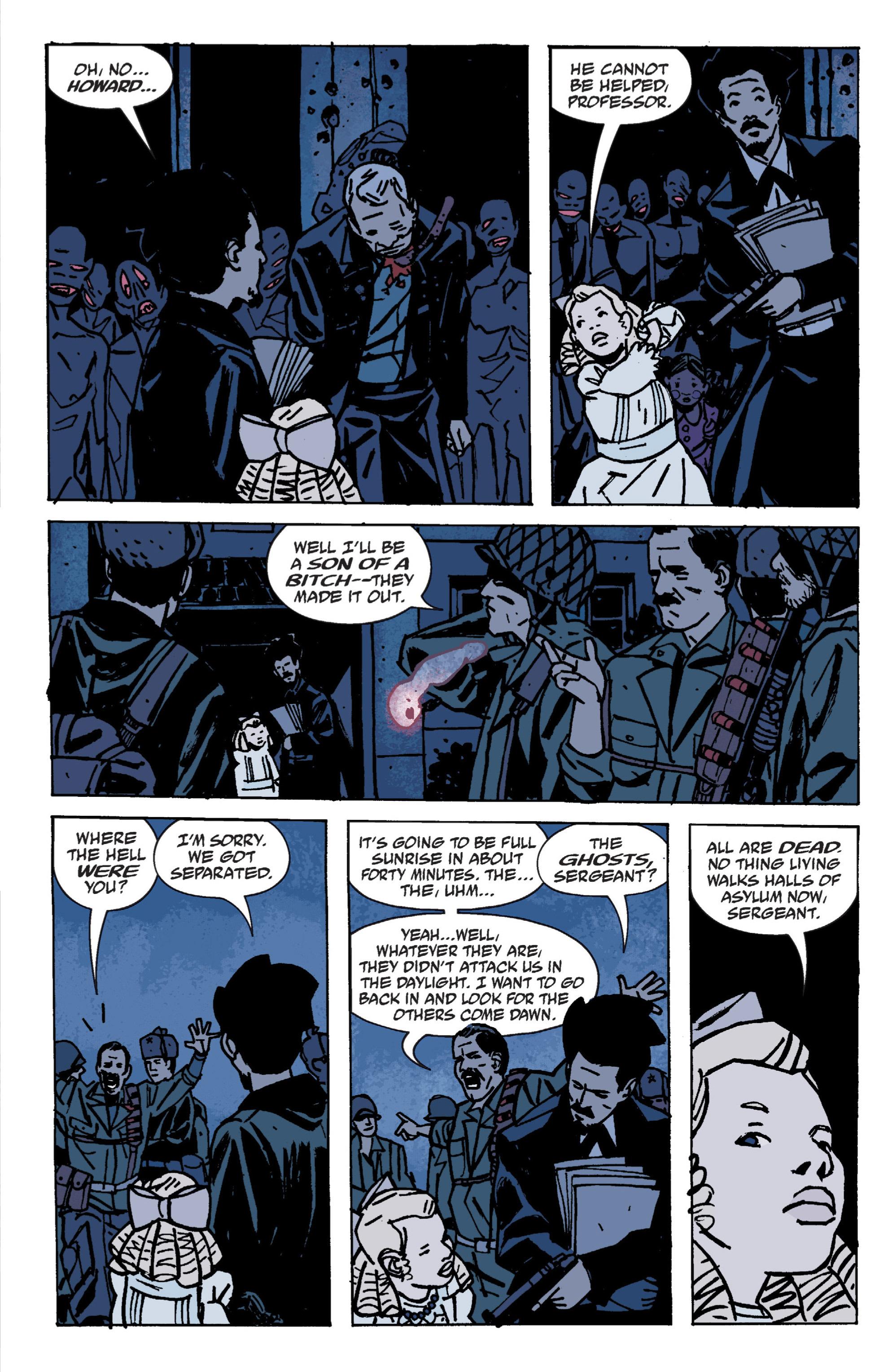 Read online B.P.R.D. (2003) comic -  Issue # TPB 9 - 82