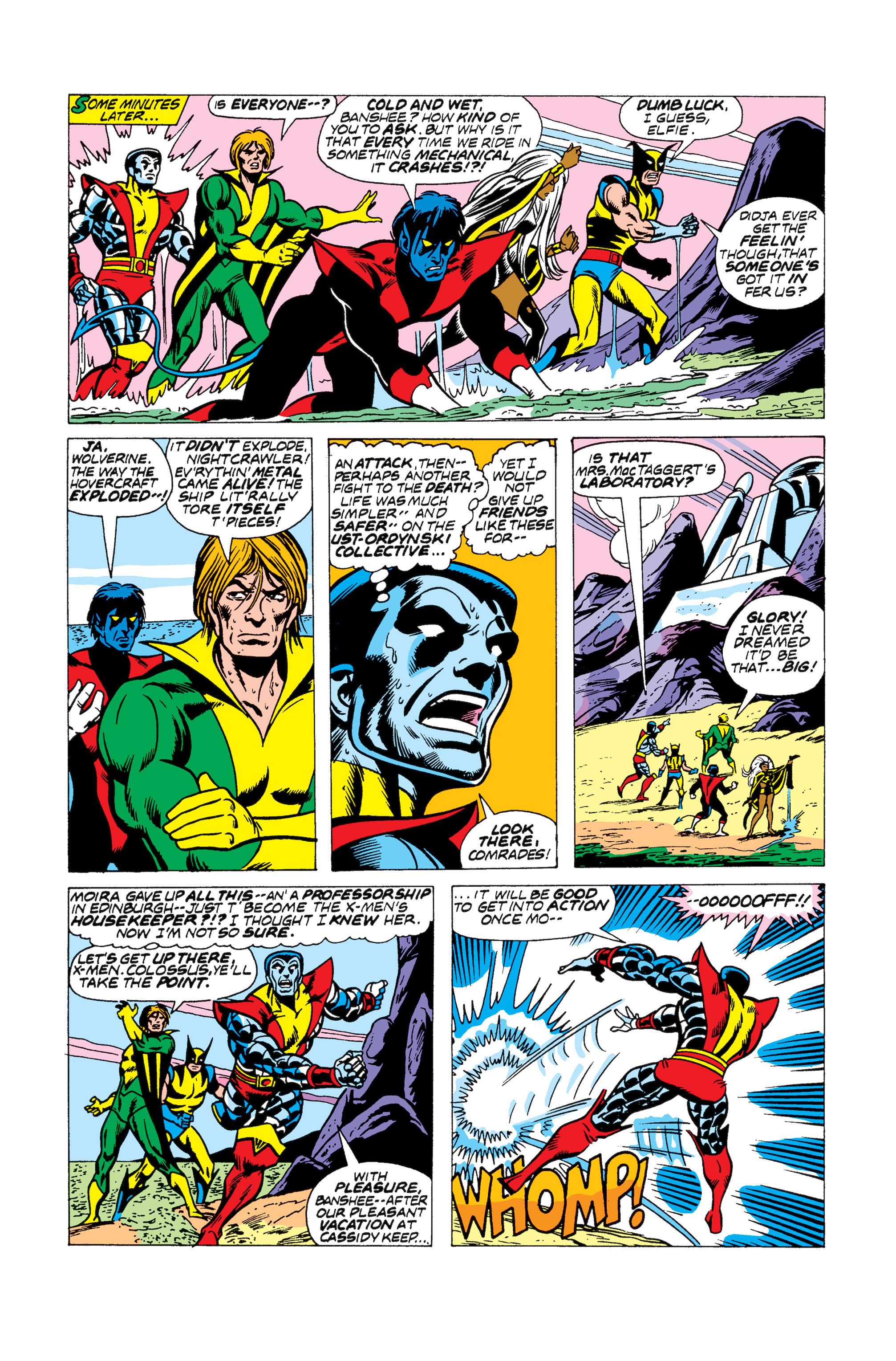 Read online Uncanny X-Men (1963) comic -  Issue #104 - 4