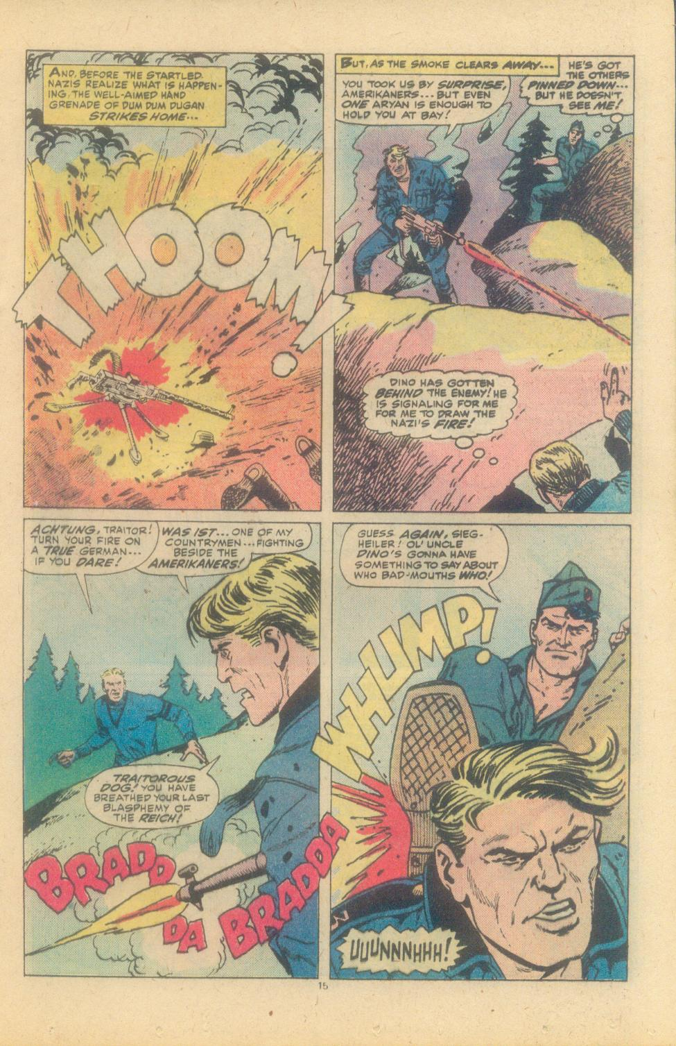 Read online Sgt. Fury comic -  Issue #150 - 17