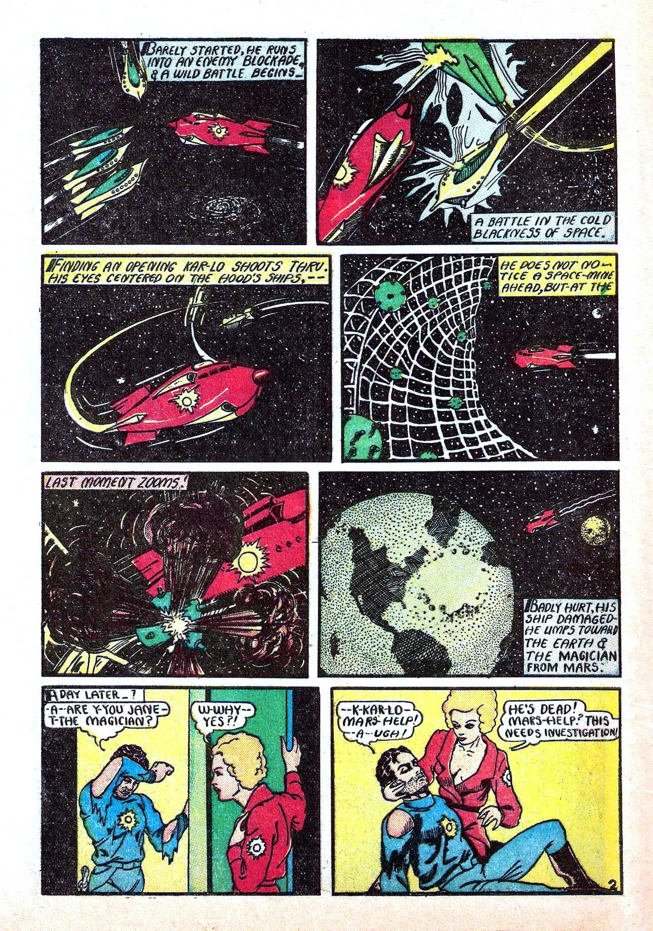 Read online Amazing Man Comics comic -  Issue #11 - 60