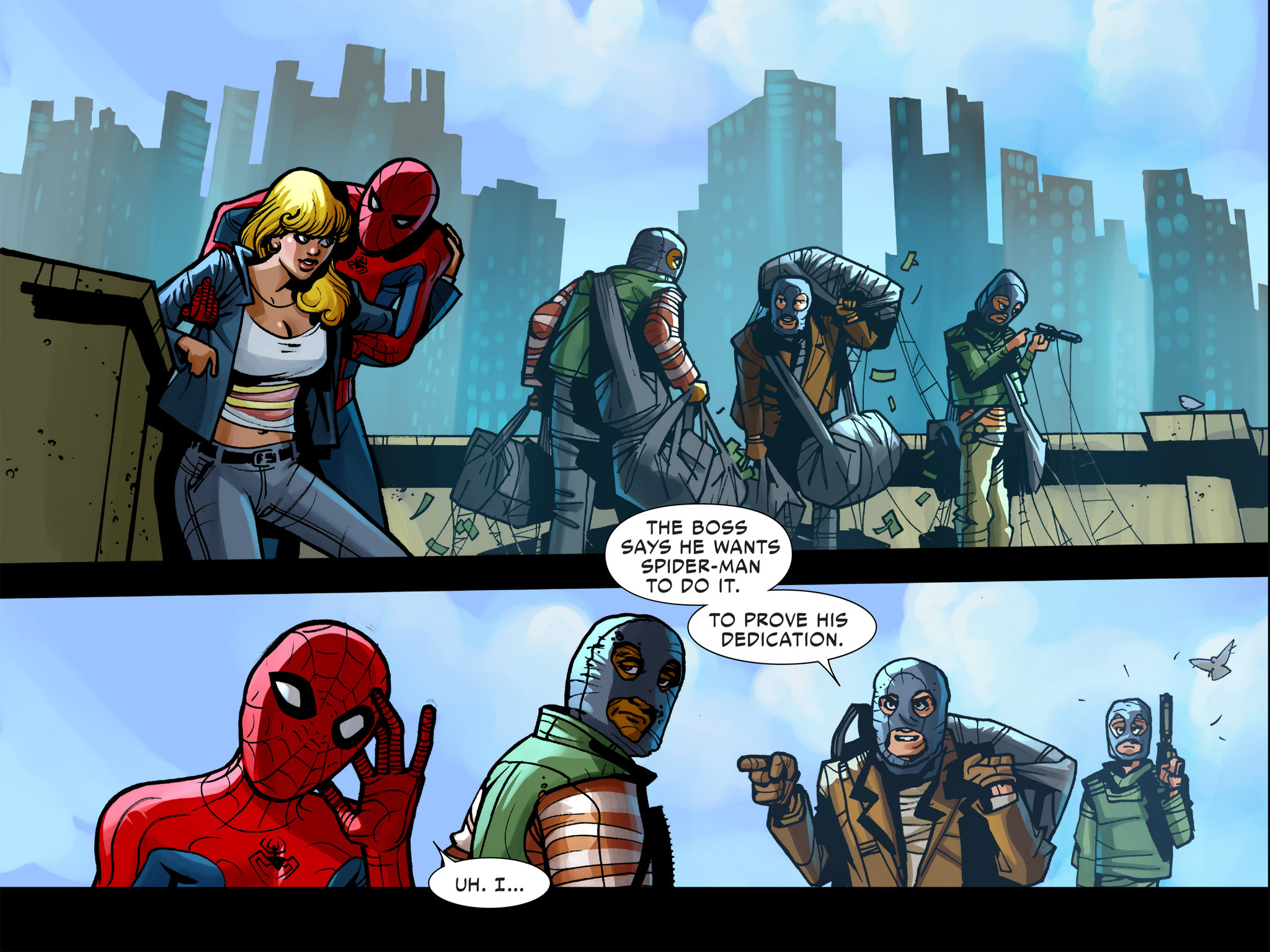 Read online Amazing Spider-Man: Who Am I? comic -  Issue # Full (Part 1) - 64