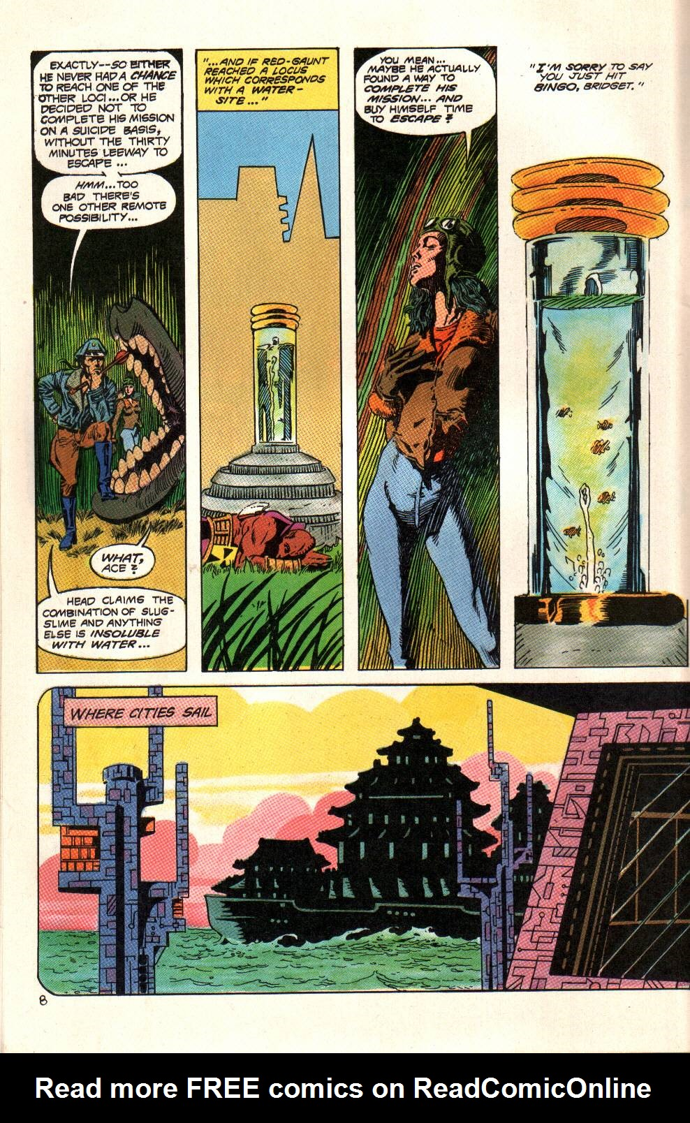 Read online Aztec Ace comic -  Issue #6 - 10