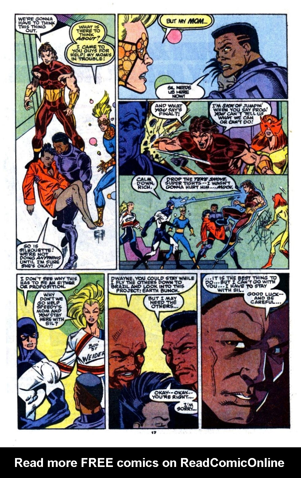 The New Warriors Issue #7 #11 - English 14