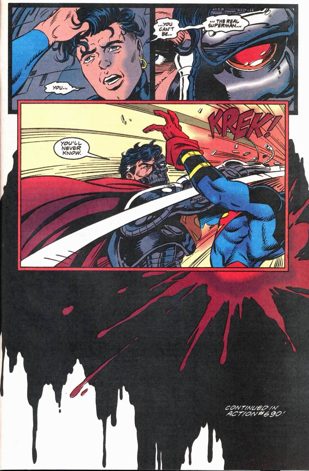 Read online Adventures of Superman (1987) comic -  Issue #503 - 23
