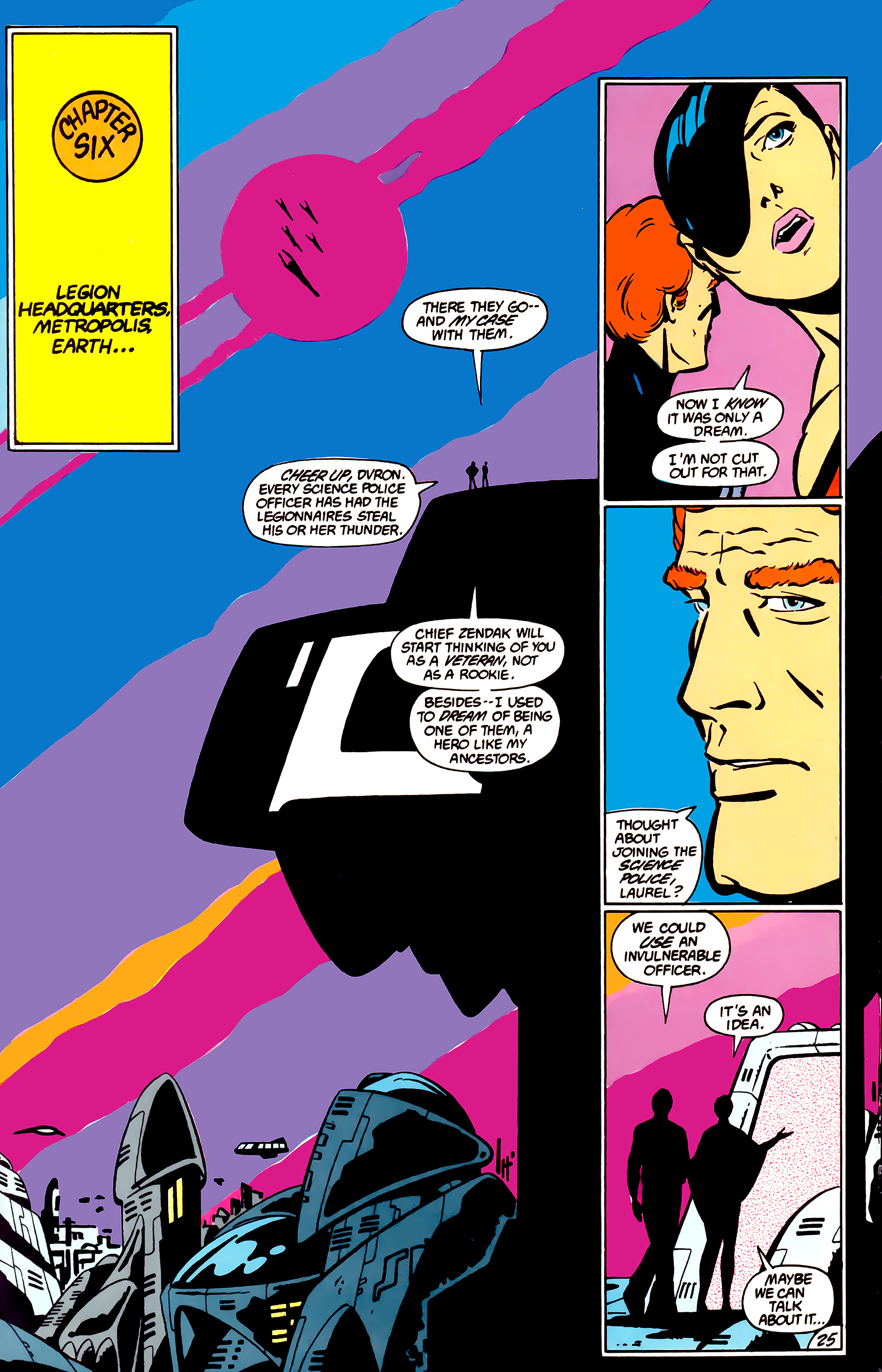 Legion of Super-Heroes (1984) _Annual_1 Page 26