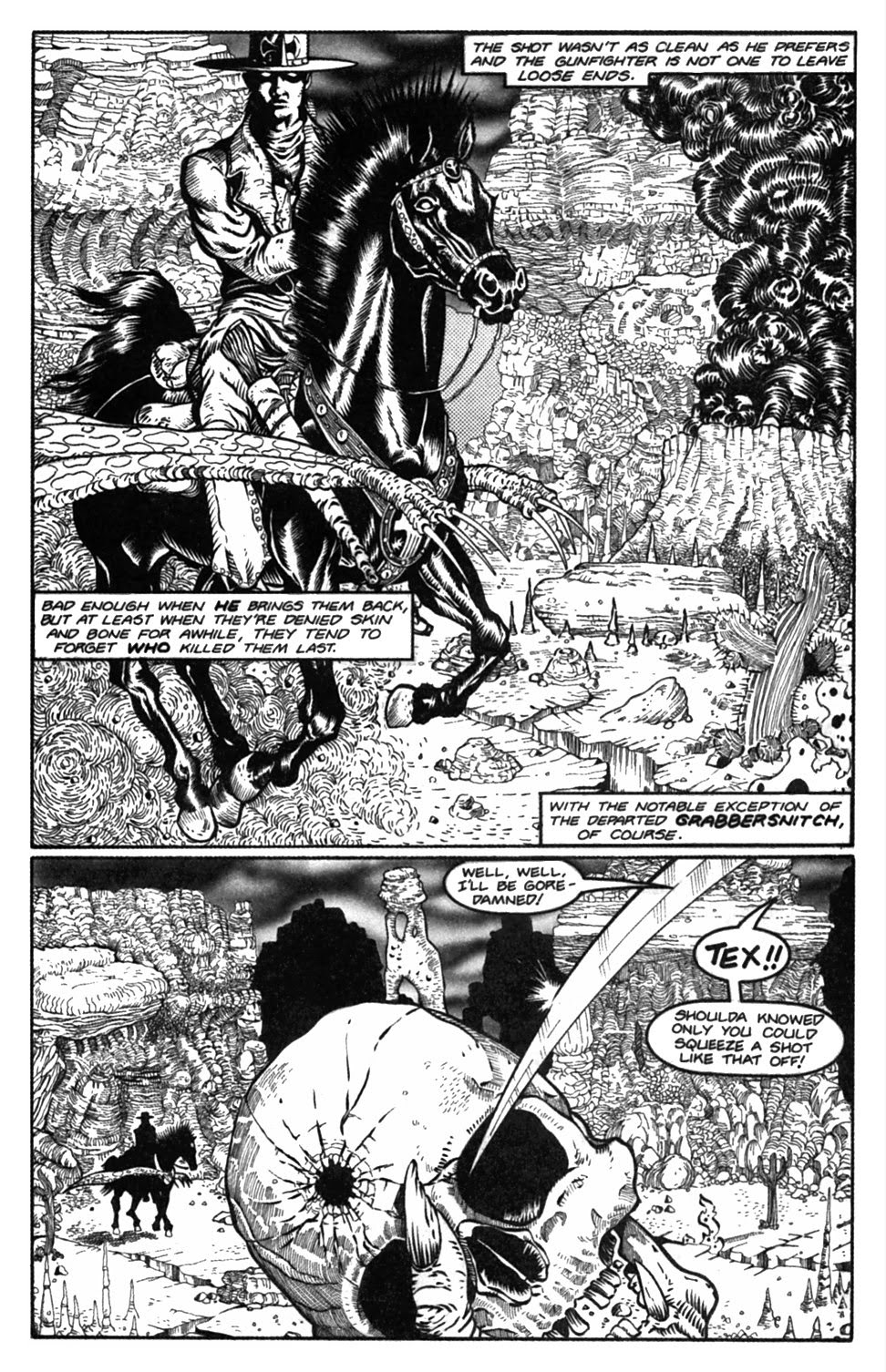 Read online Gunfighters in Hell comic -  Issue #2 - 21