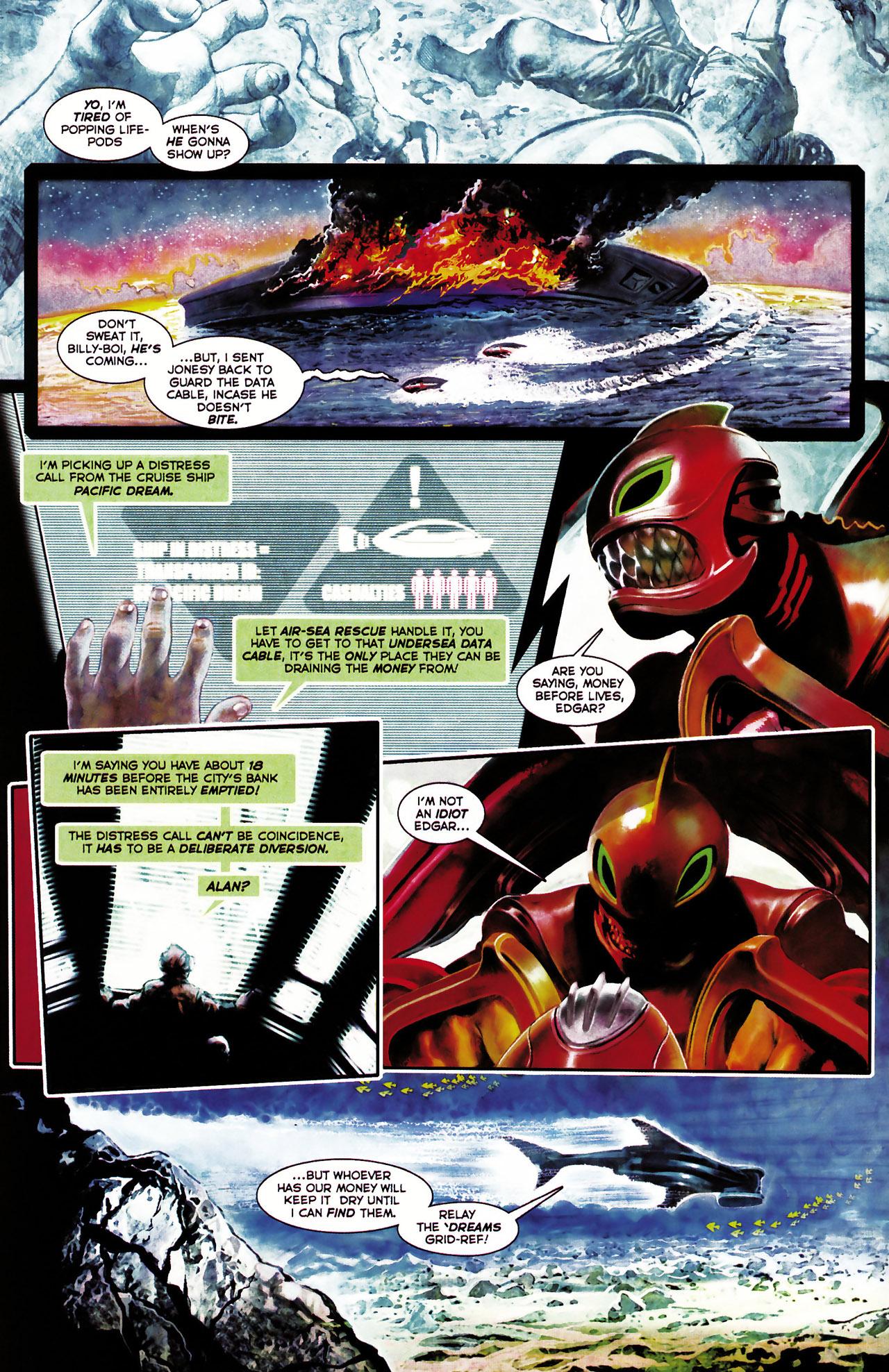 Read online Shark-Man comic -  Issue #1 - 10