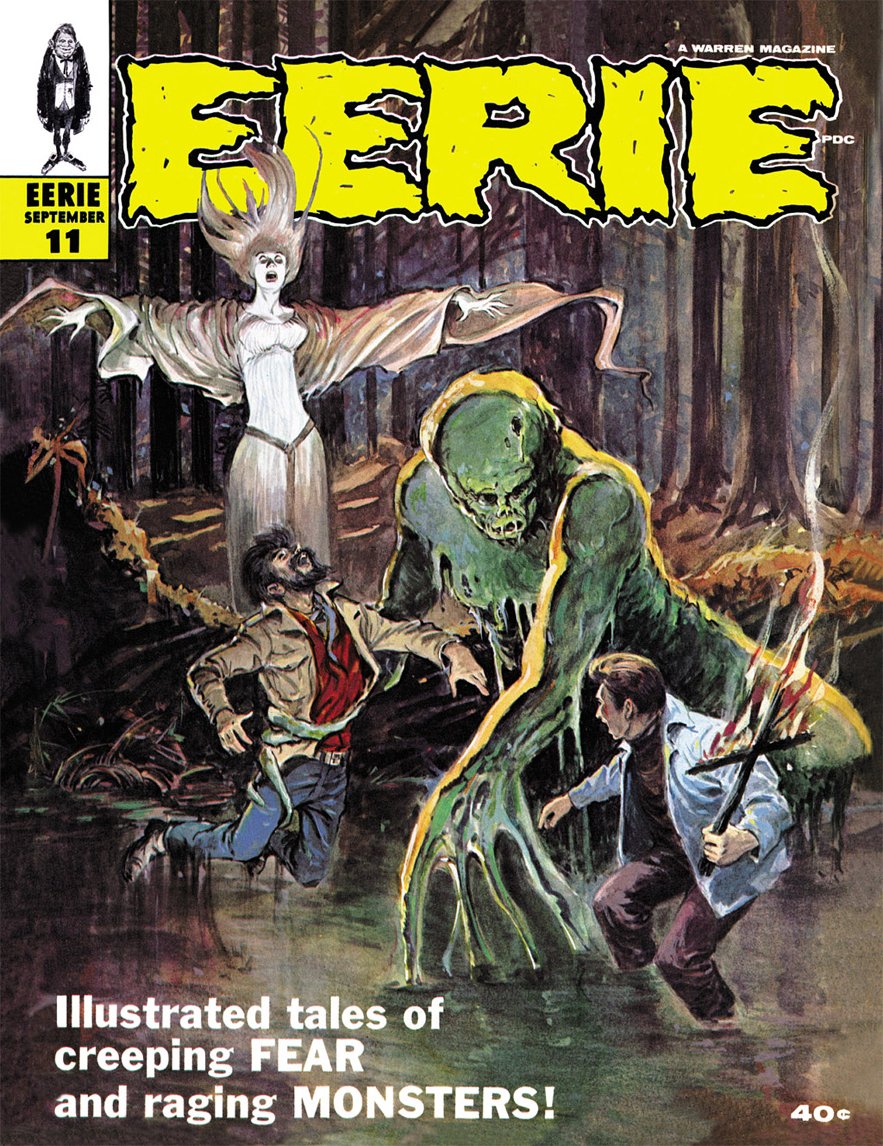 Read online Eerie Archives comic -  Issue # TPB 3 - 8
