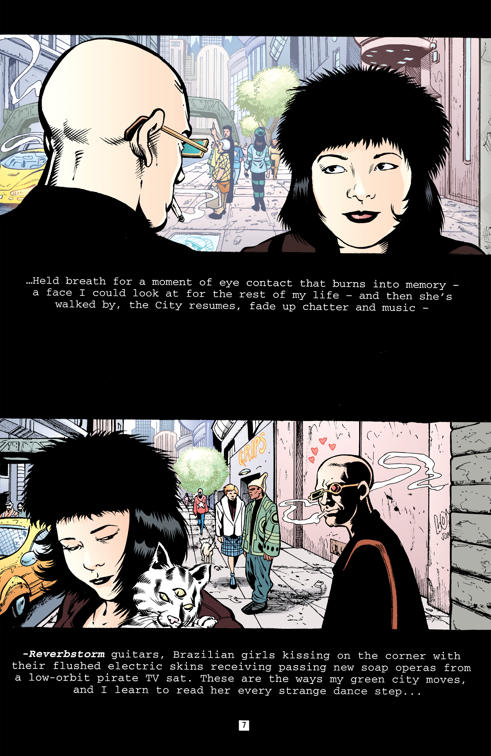 Read online Transmetropolitan comic -  Issue #32 - 8