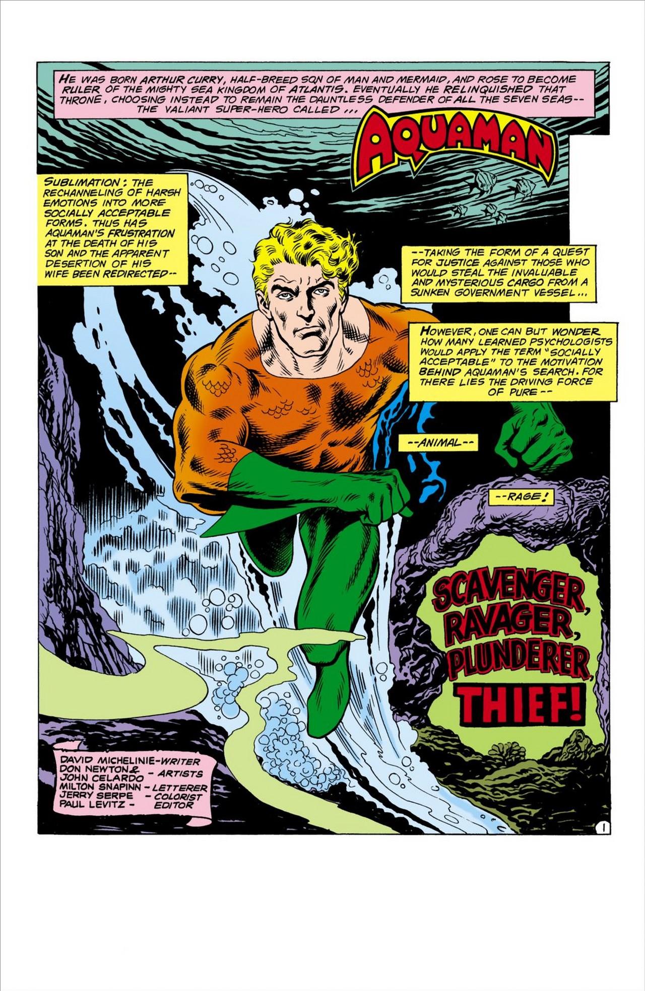 Read online Aquaman (1962) comic -  Issue #60 - 2