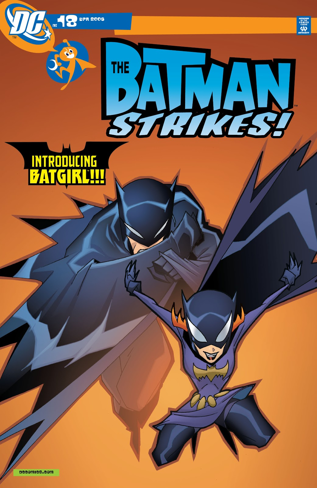 The Batman Strikes! issue 18 - Page 1