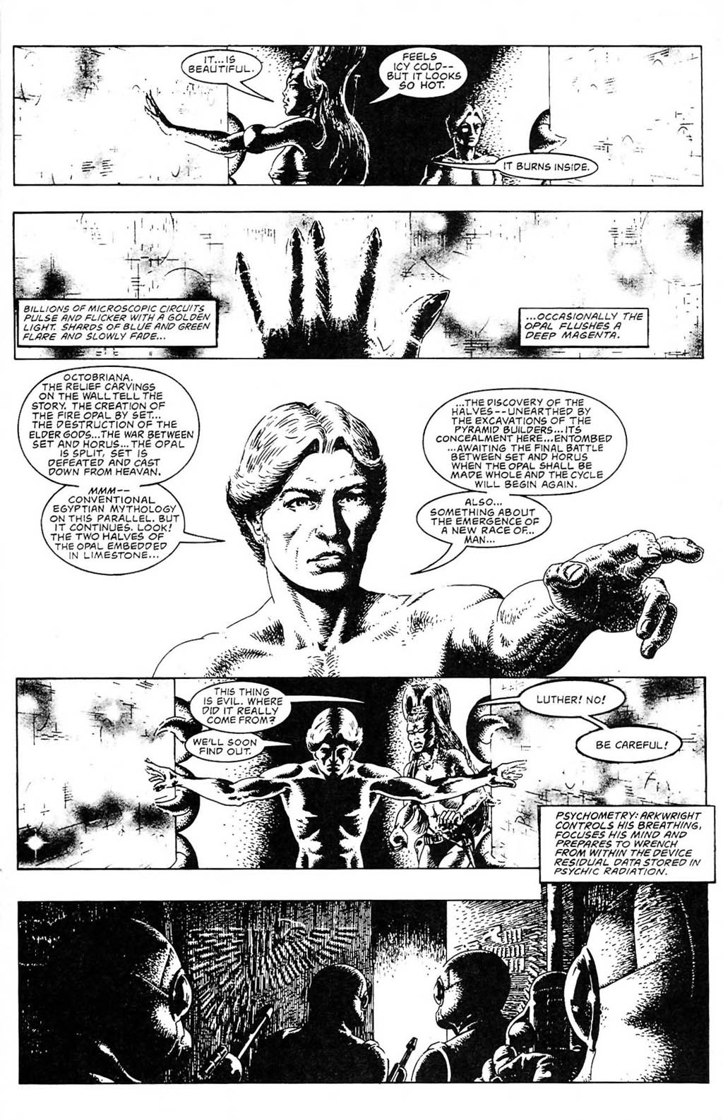 Read online The Adventures of Luther Arkwright comic -  Issue #2 - 21