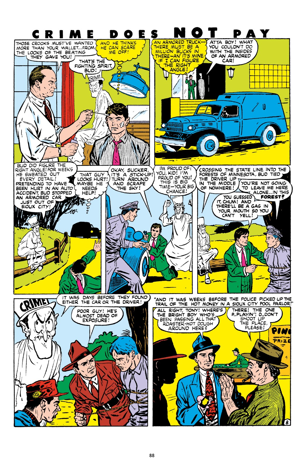 Read online Crime Does Not Pay Archives comic -  Issue # TPB 8 (Part 1) - 89