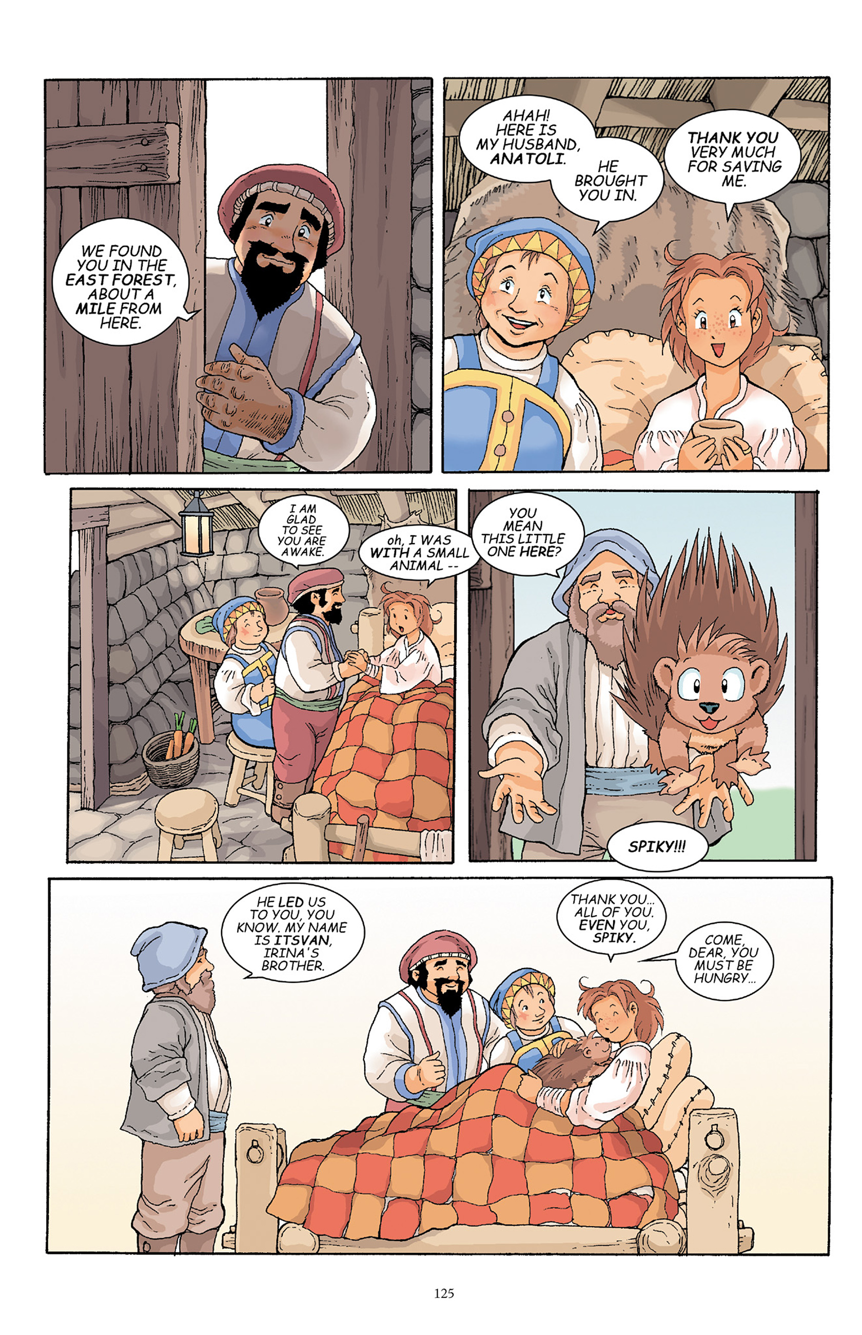 Read online Courageous Princess comic -  Issue # TPB 1 - 124