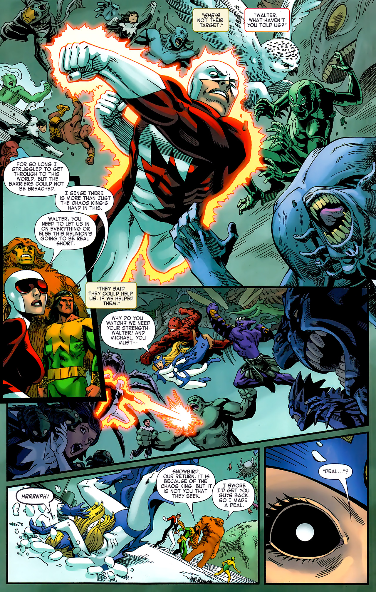 Read online Chaos War: Alpha Flight comic -  Issue # Full - 11