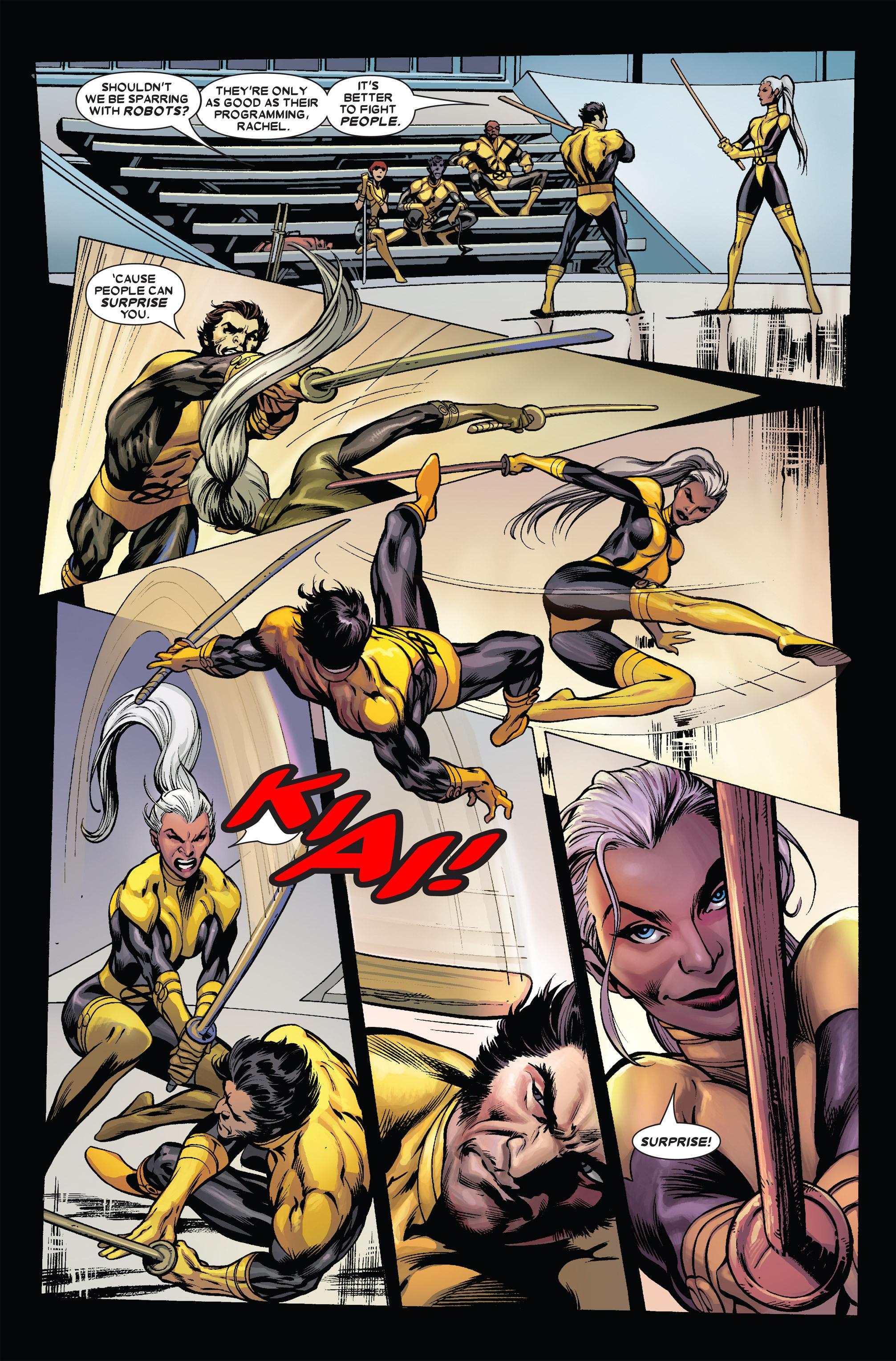 Read online Uncanny X-Men (1963) comic -  Issue #455 - 8