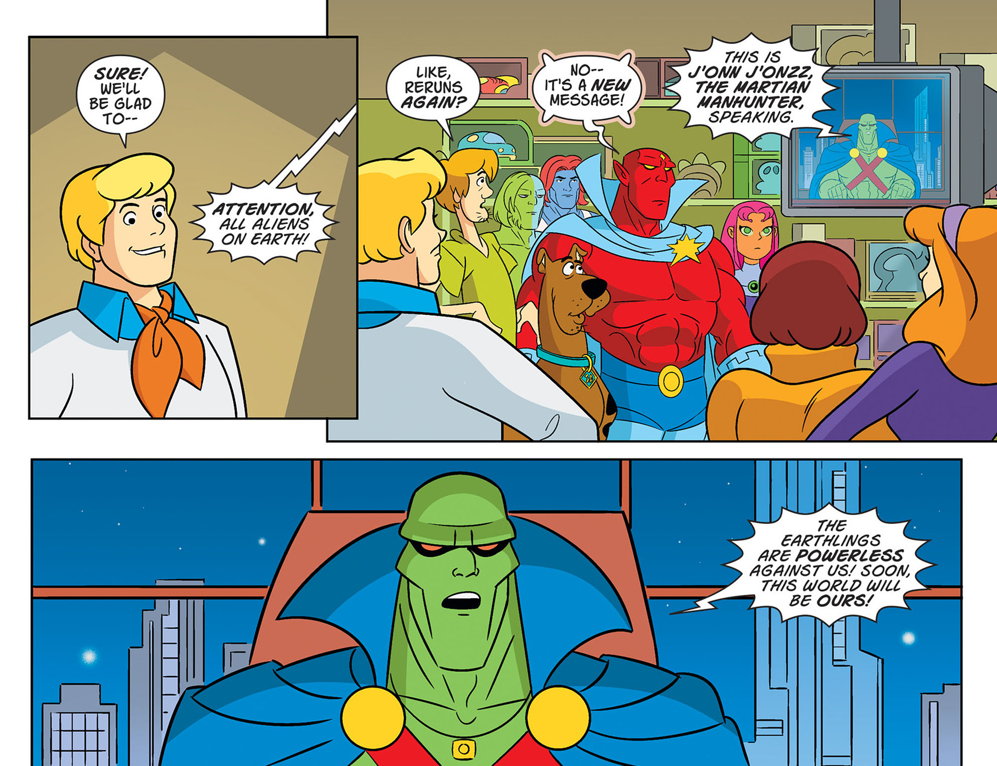 Read online Scooby-Doo! Team-Up comic -  Issue #47 - 18