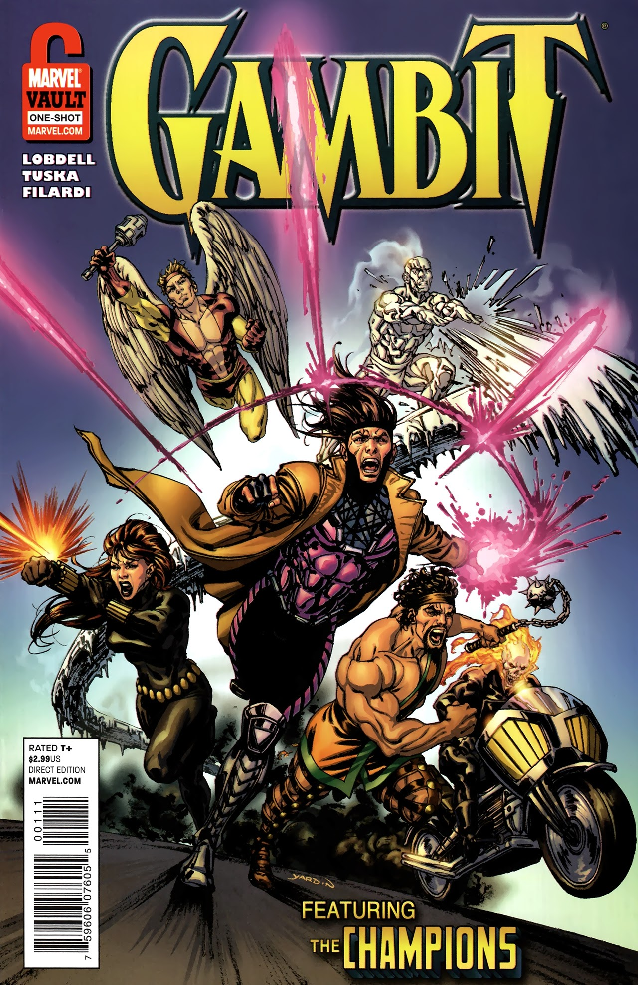 Gambit and the Champions: From The Marvel Vault Full Page 1