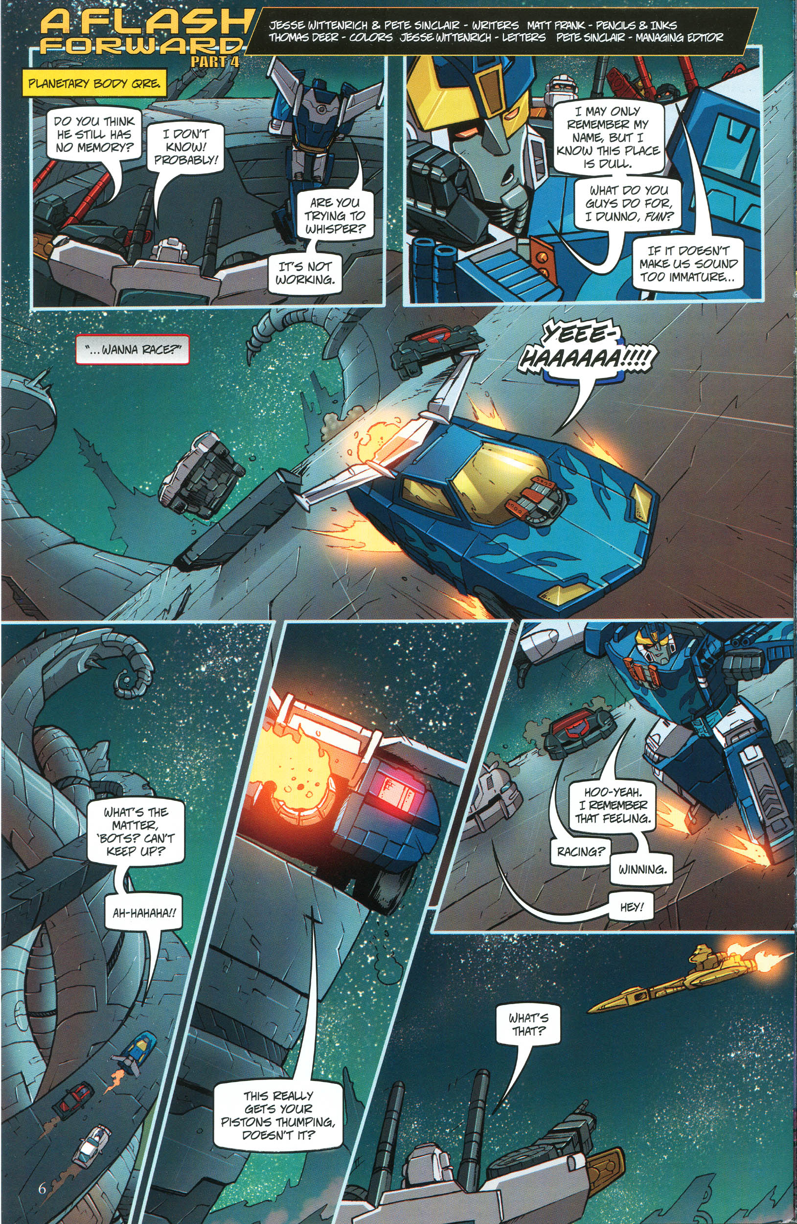 Read online Transformers: Collectors' Club comic -  Issue #46 - 6