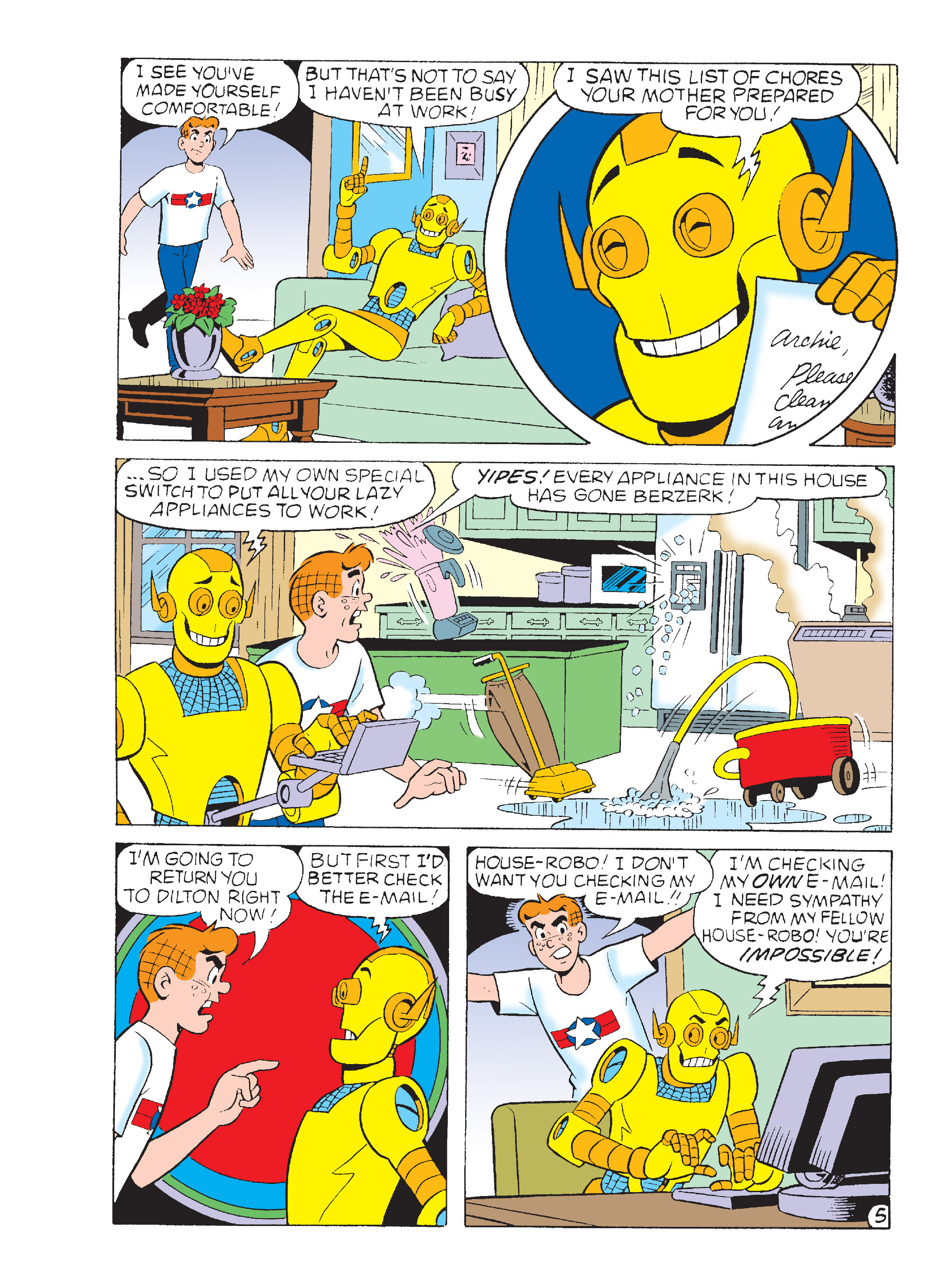 Read online Archie's Funhouse Double Digest comic -  Issue #15 - 271