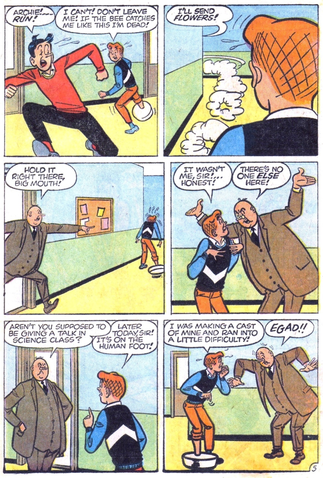 Read online Archie (1960) comic -  Issue #148 - 17